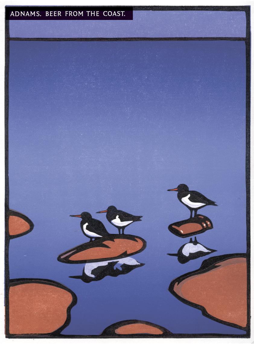 Adnams 'Bird:Bottle' Page