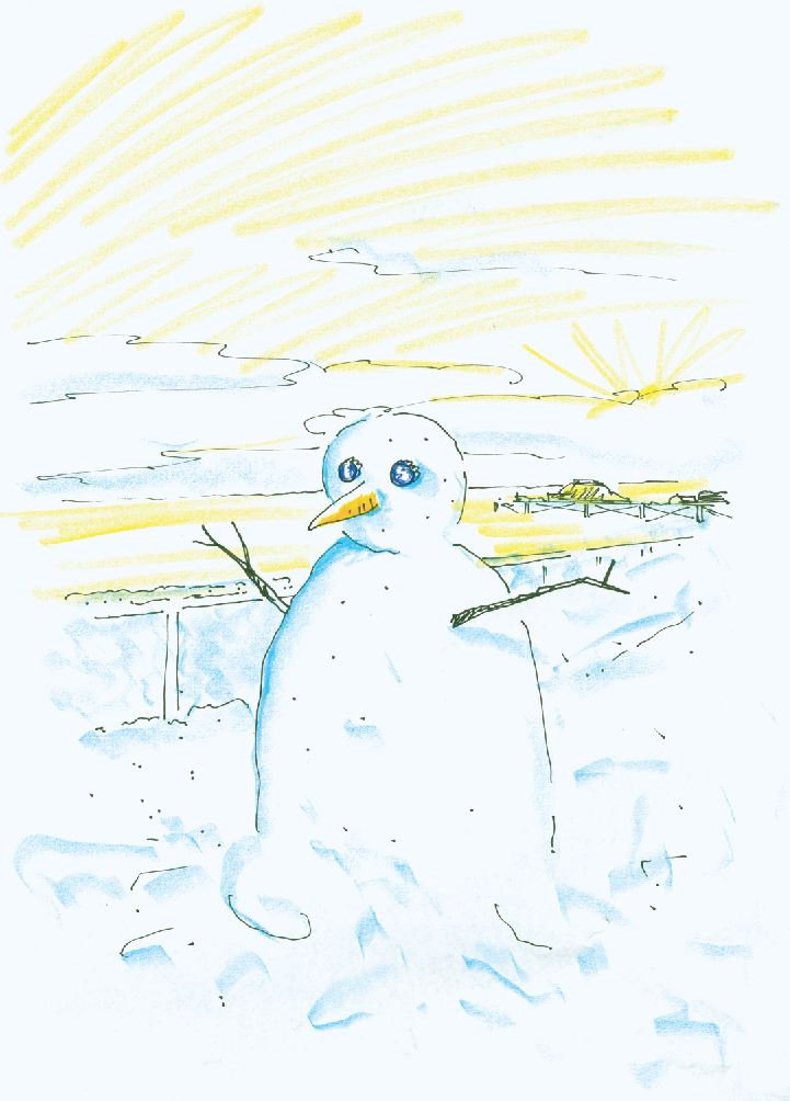 Adnams 'Snowman' Dave Rough 2