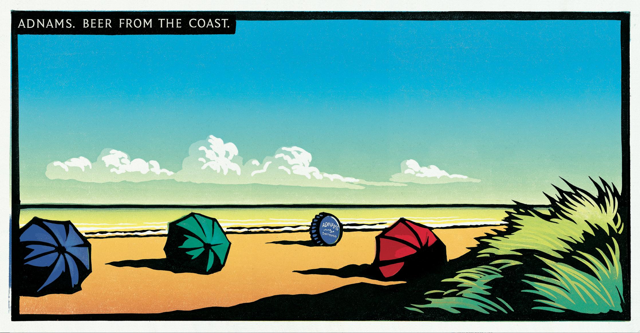 Adnams 'Umbrellas' 48