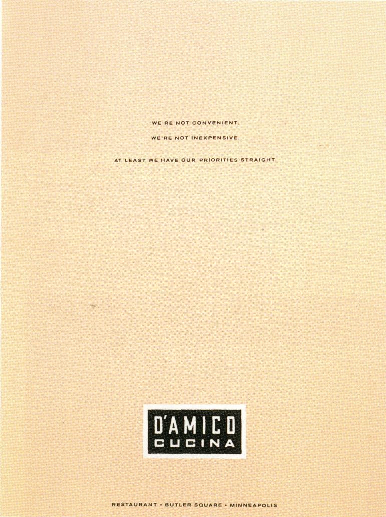 Fallon McElligott, D'AMICA 2-01