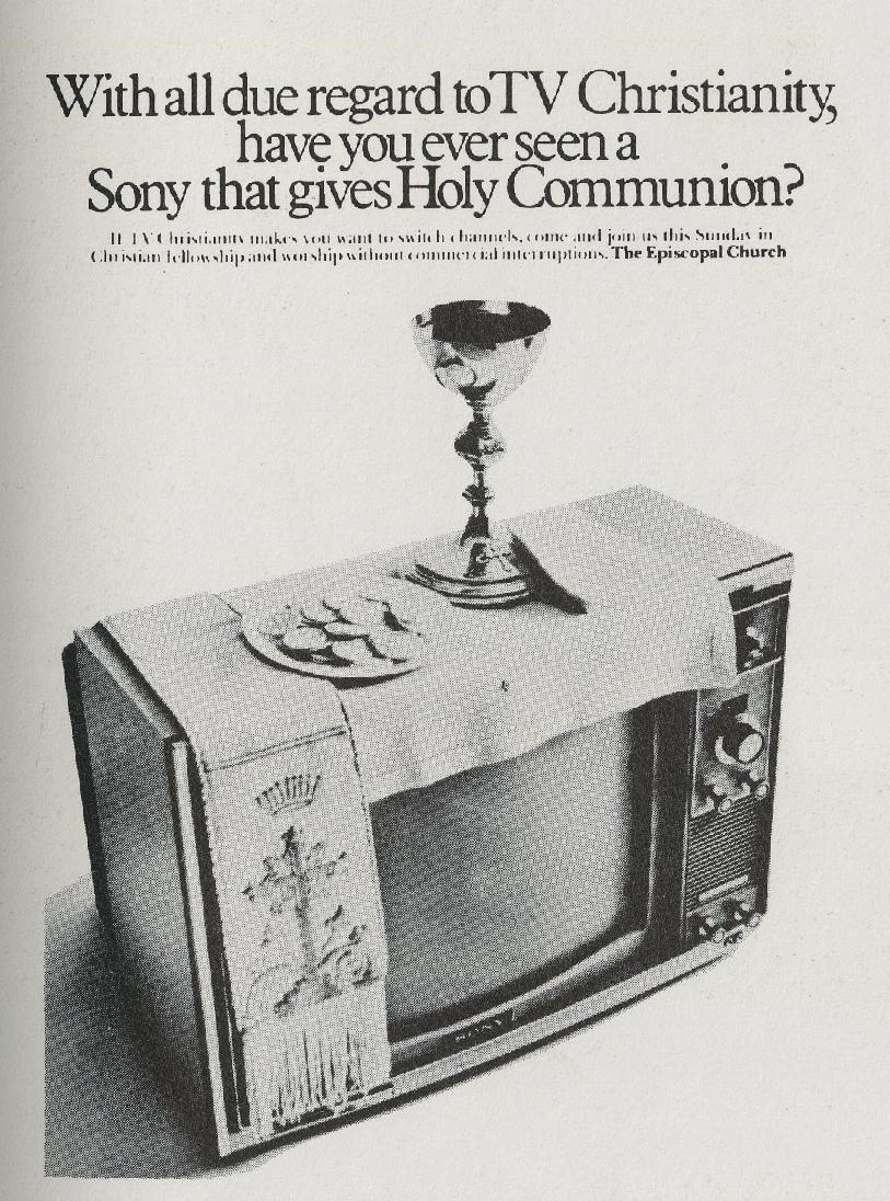 Fallon McElligott, Episcopal 'TV'-01