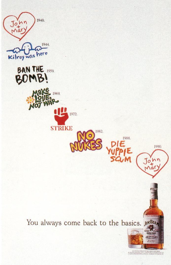 Fallon McElligott, Jim Beam 'Graffitti'-01