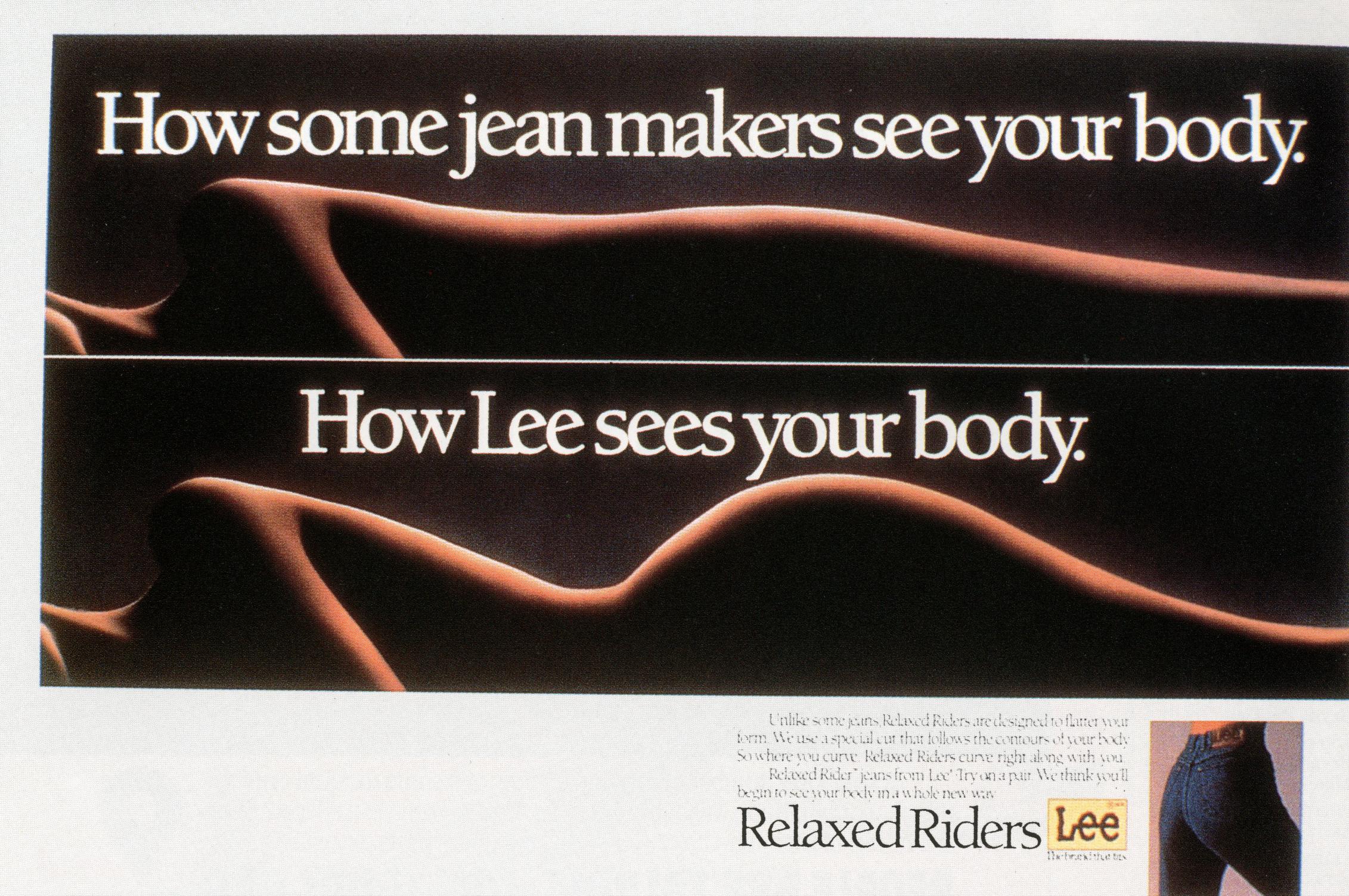 Fallon McElligott, Lee, 'How Jeans Companies'-01