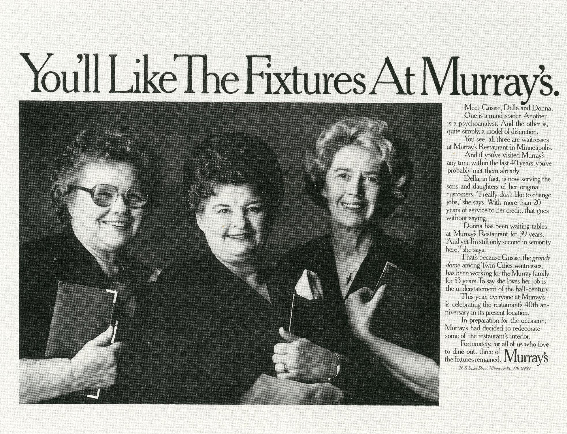 Fallon McElligott, Murray's 'Fixtures'-01
