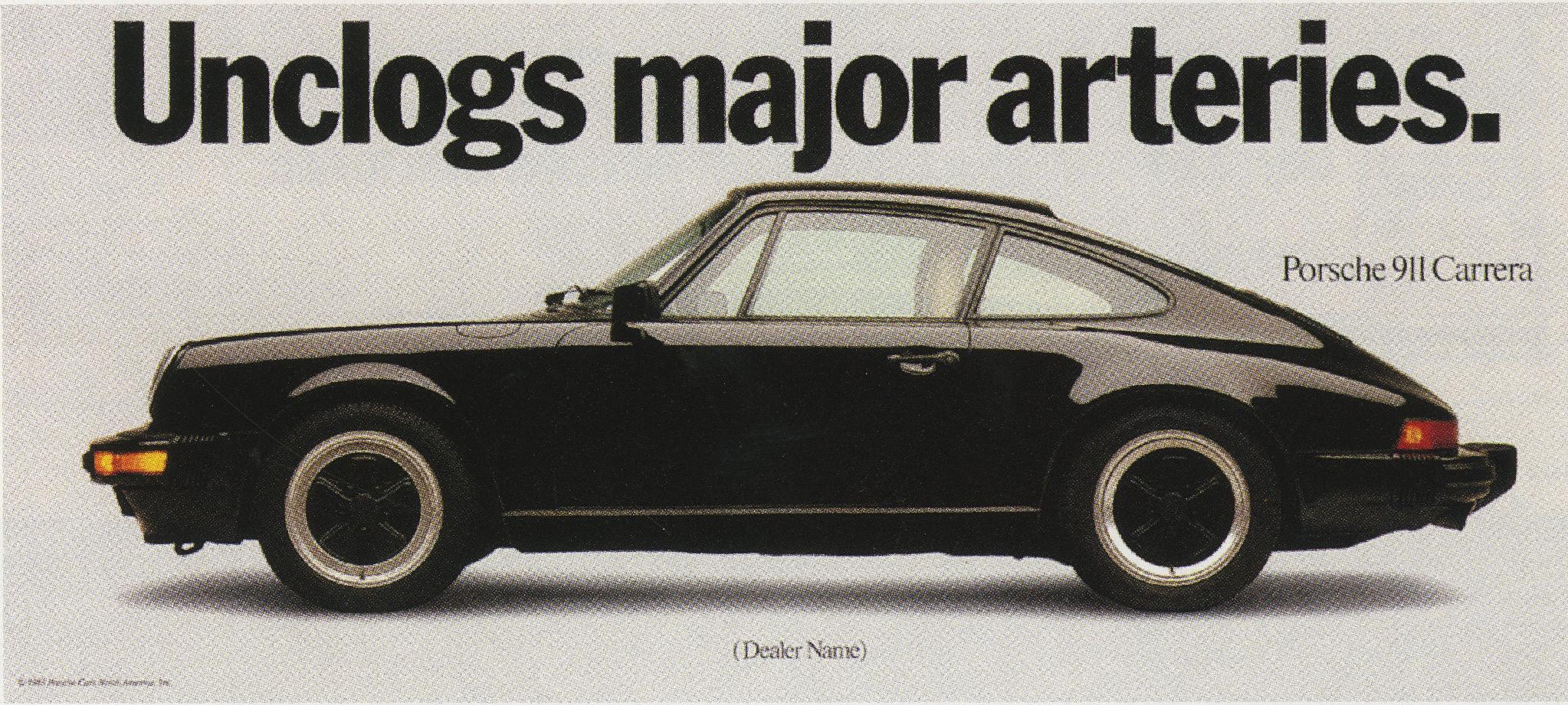 Fallon McElligott, Porsche 'Unclogs'-01