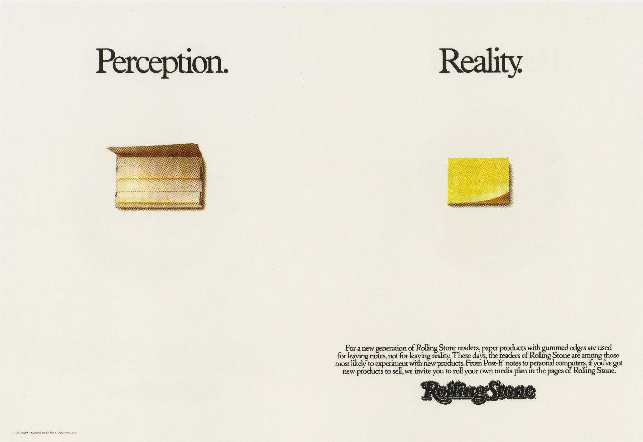 Fallon McElligott, Rolling Stone 'Post It'-01
