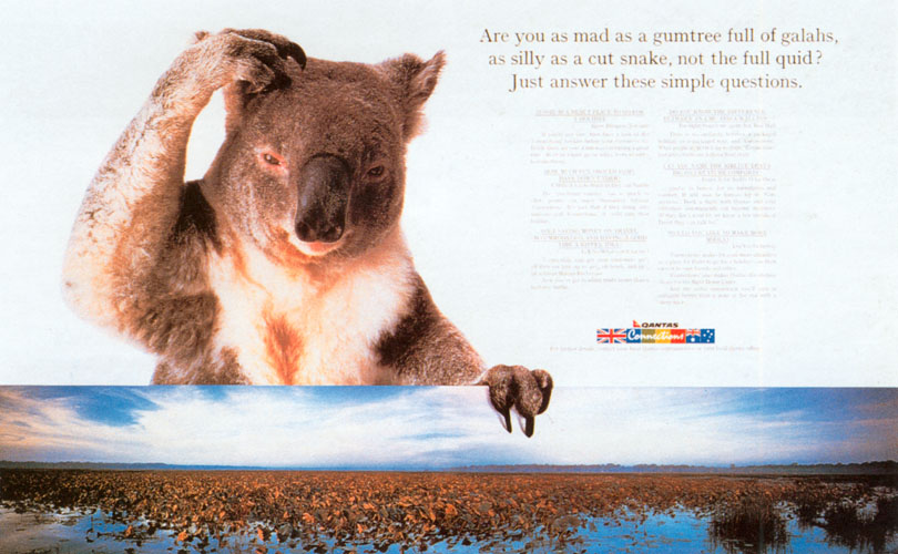 John Knight, Qantas 'Gumtree'