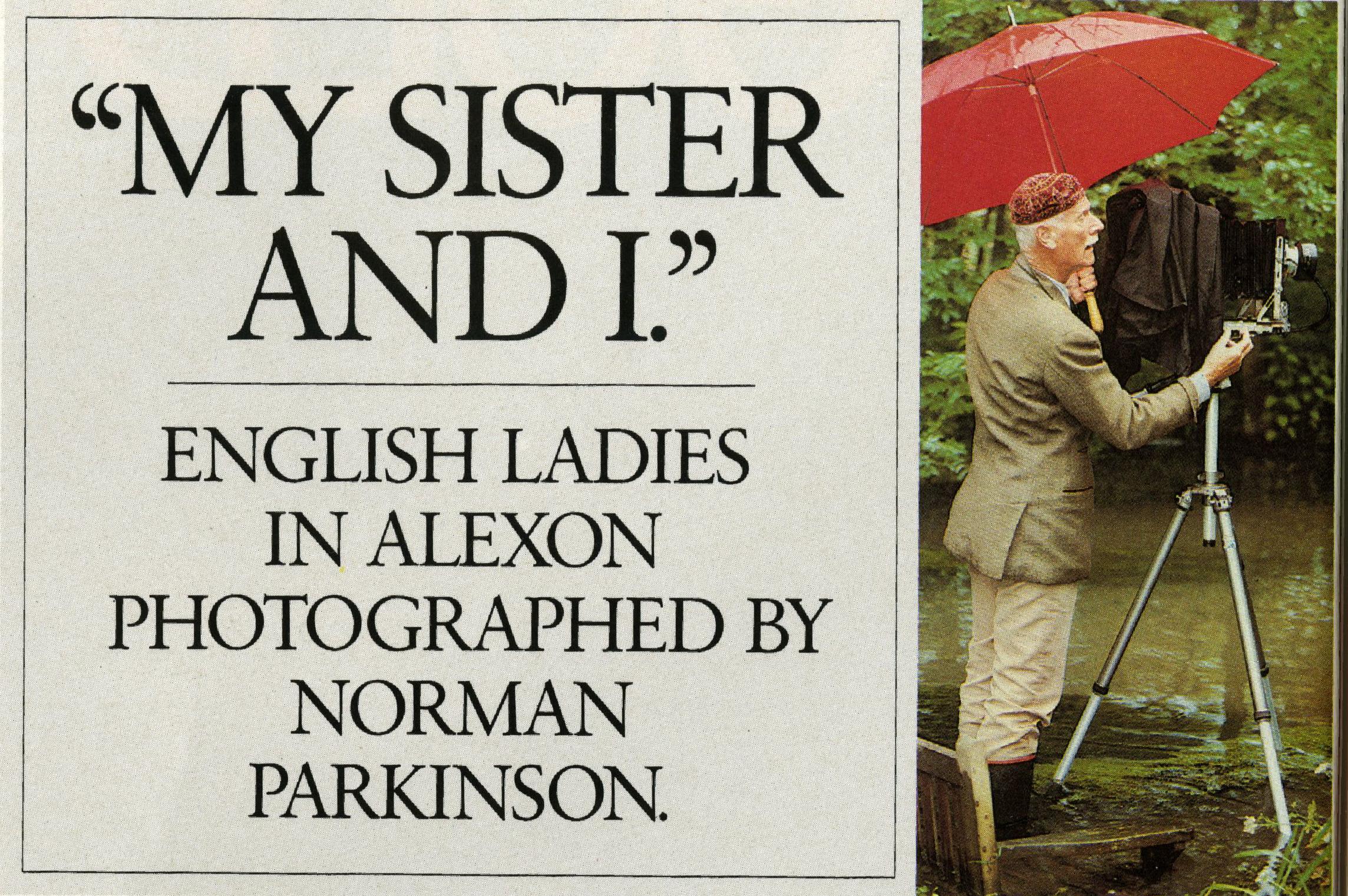 Paul Arden, Avedon 'Norman Parkinson'-01