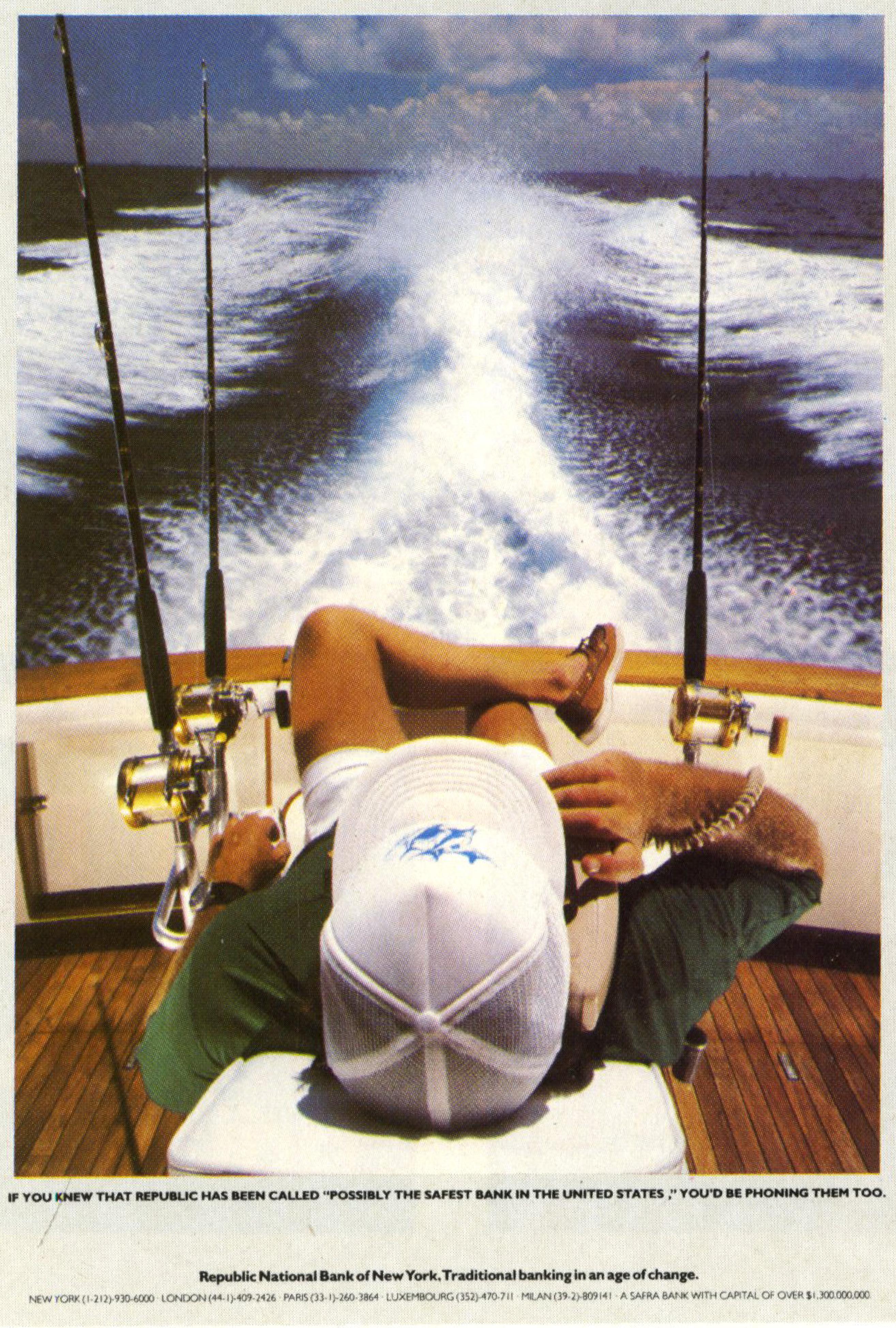 Paul Arden (Brian Griffin) Republic Bank 'Boat'-01