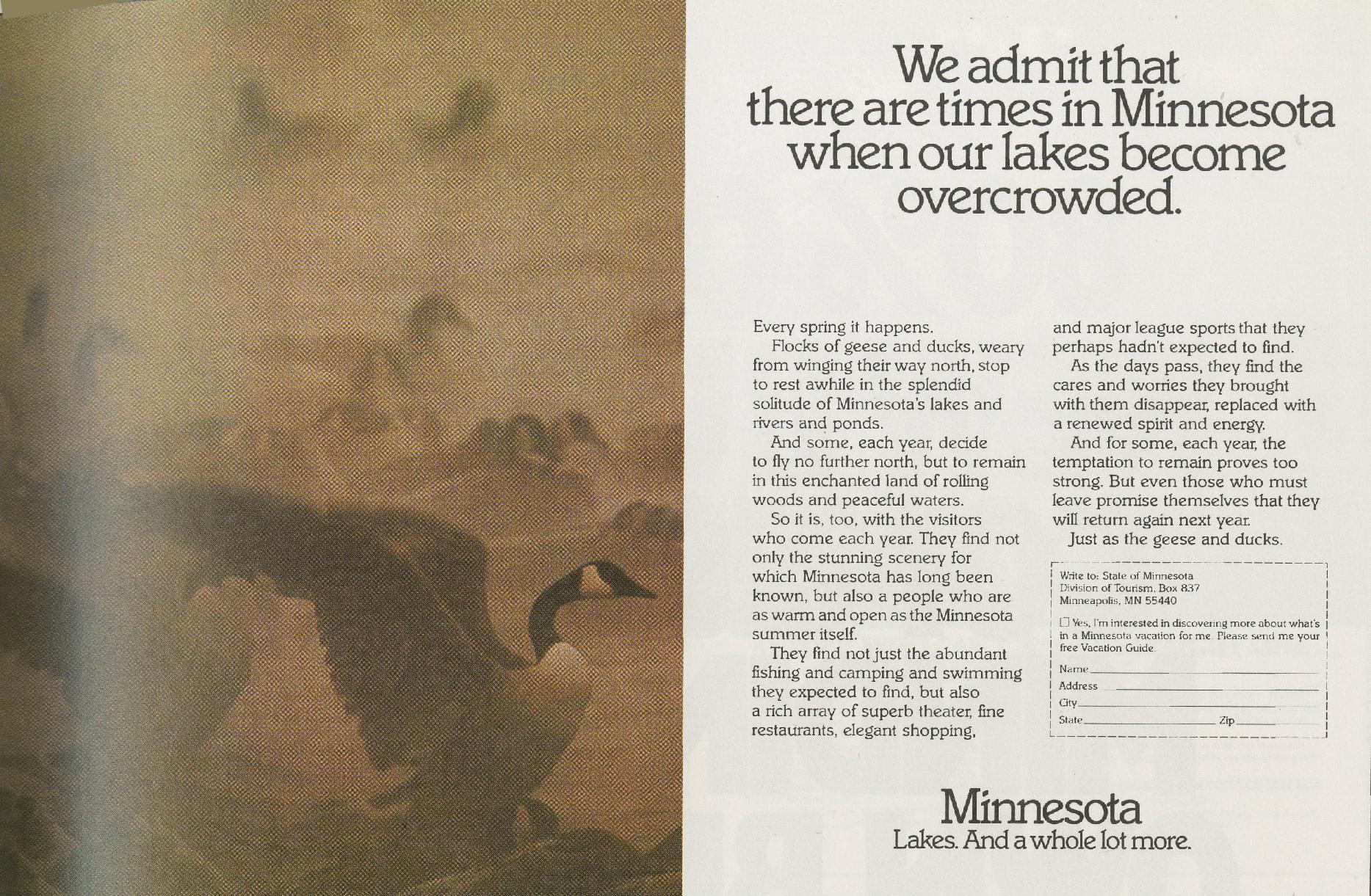 Tom McElligott, 'Crowded' - Minnesota.Nancy Rice-01