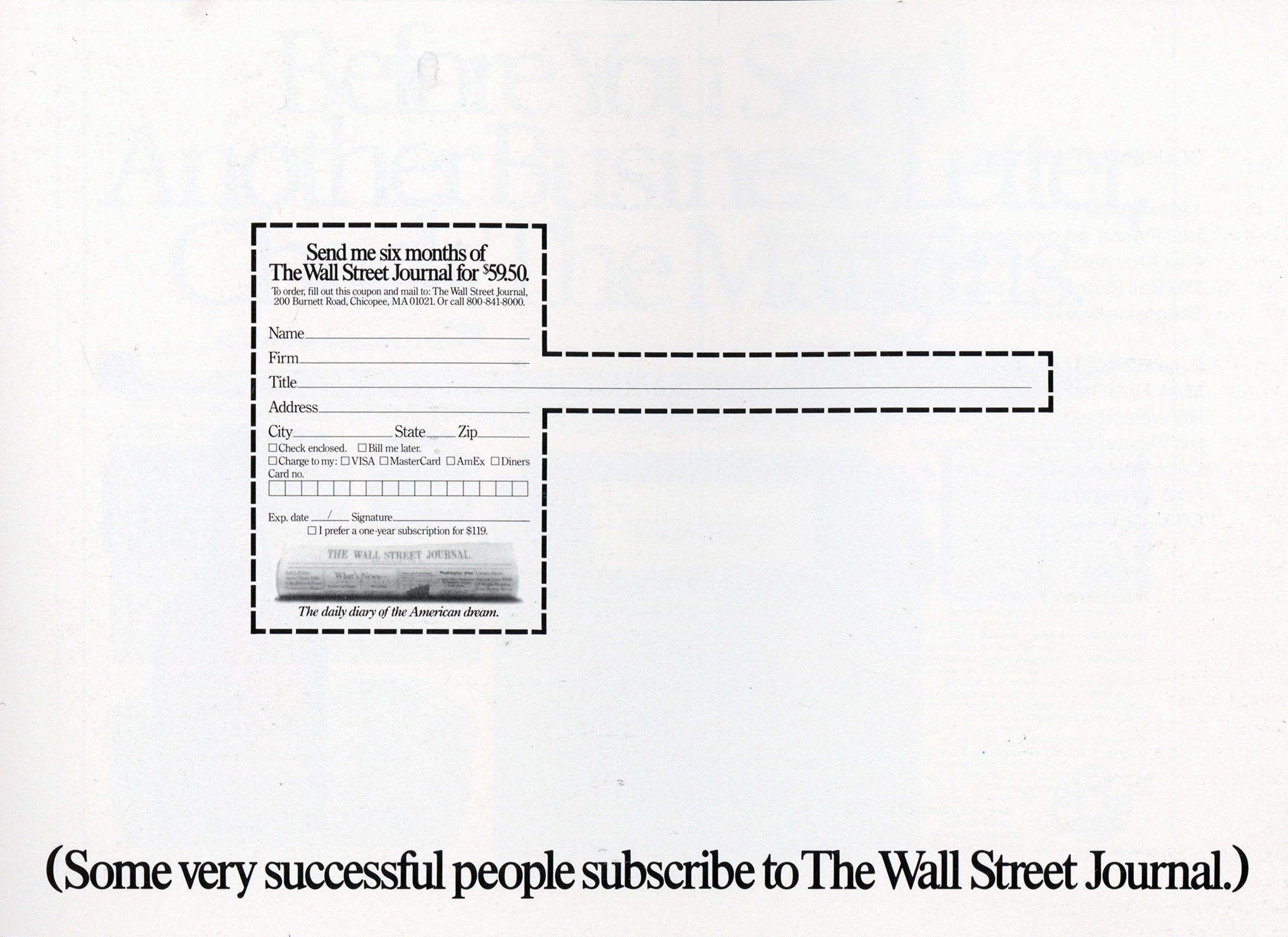 Tom McElligott, Wall Street Journal 'Title'-01