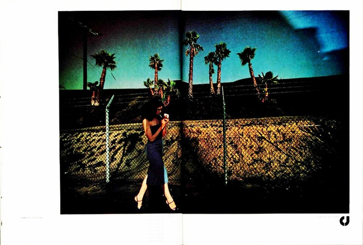 'Turquoise Sky' Charles Jourdan, Guy Bourdain