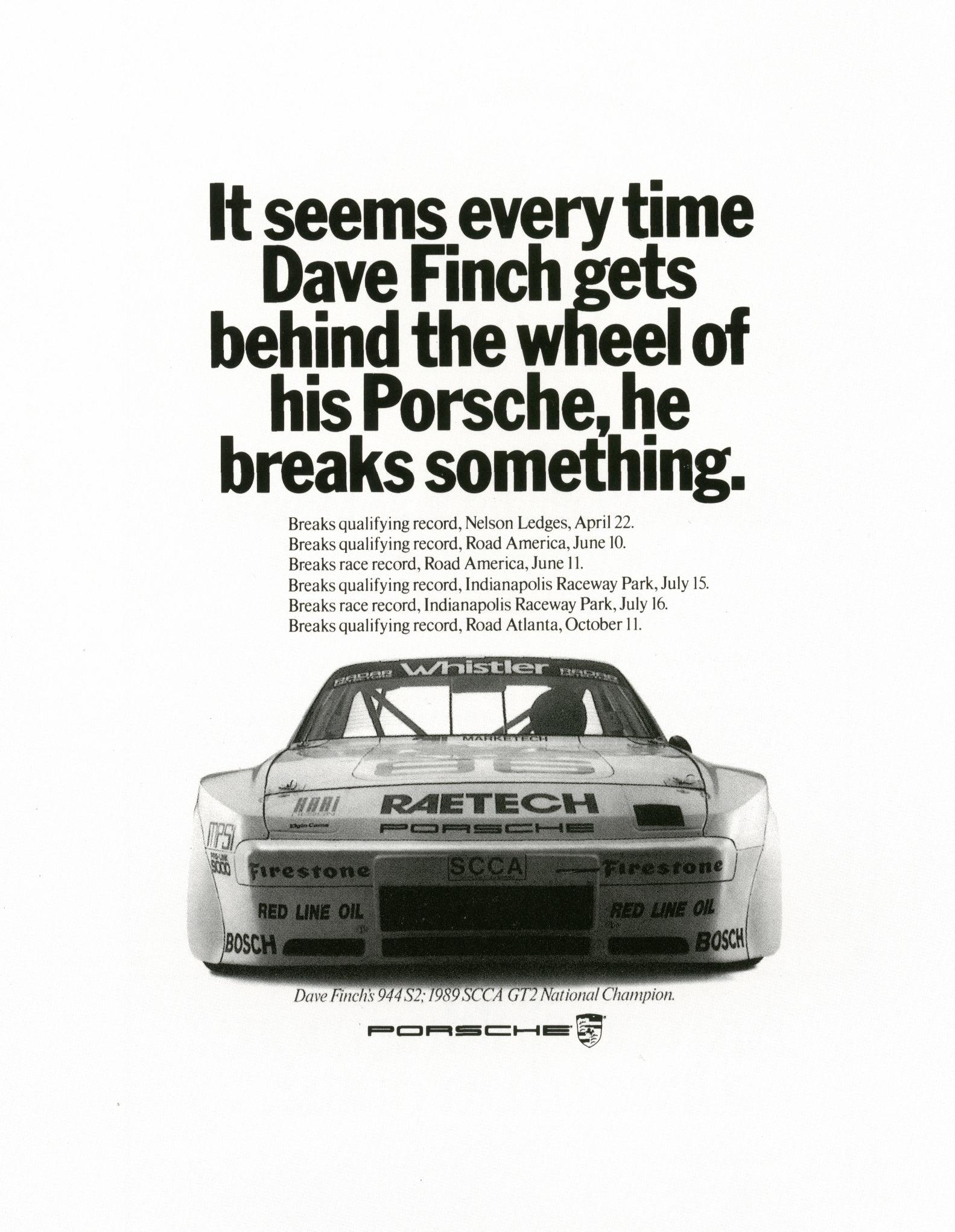Fallon McElligott, Porsche 'Breaks something'-01