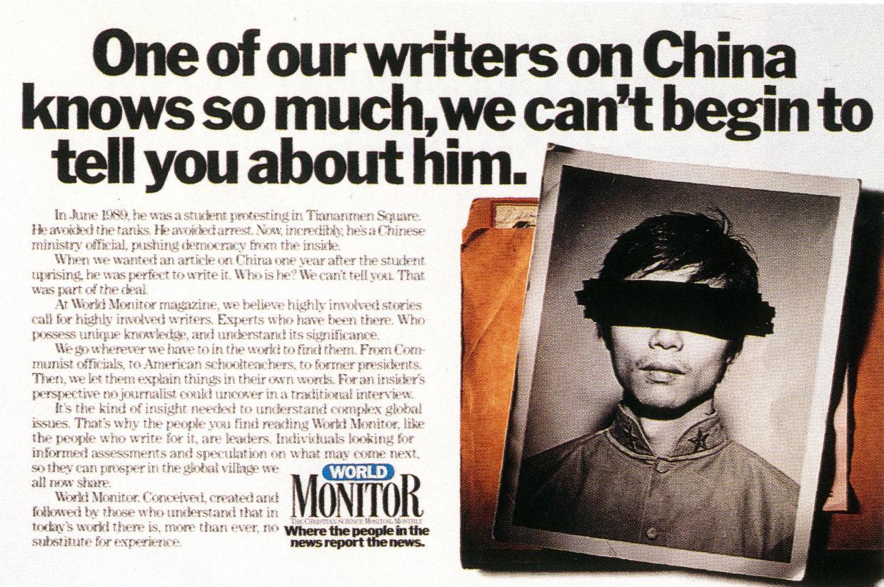 Pat Burnham, Monitor 'China'-01
