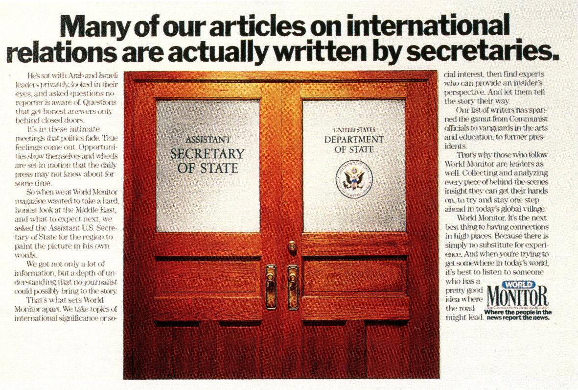 Pat Burnham Monitor 'Secretaries'-01