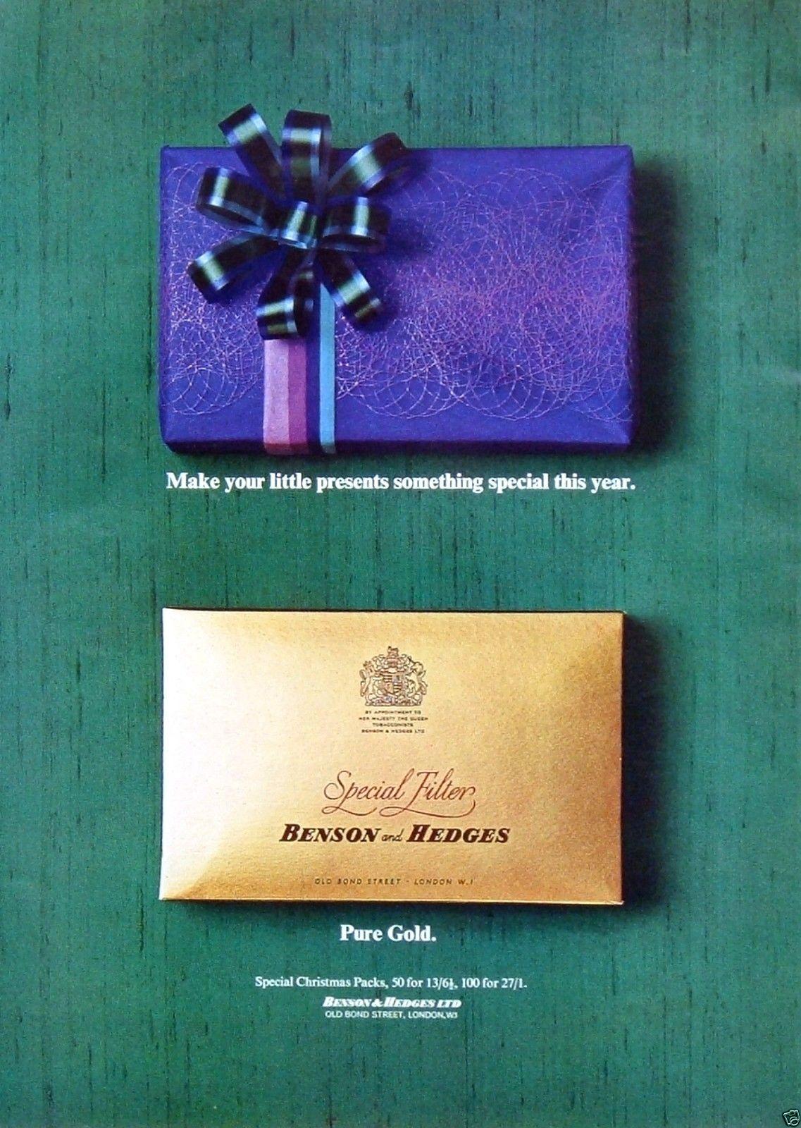 B&H Gold 'Purple Box'