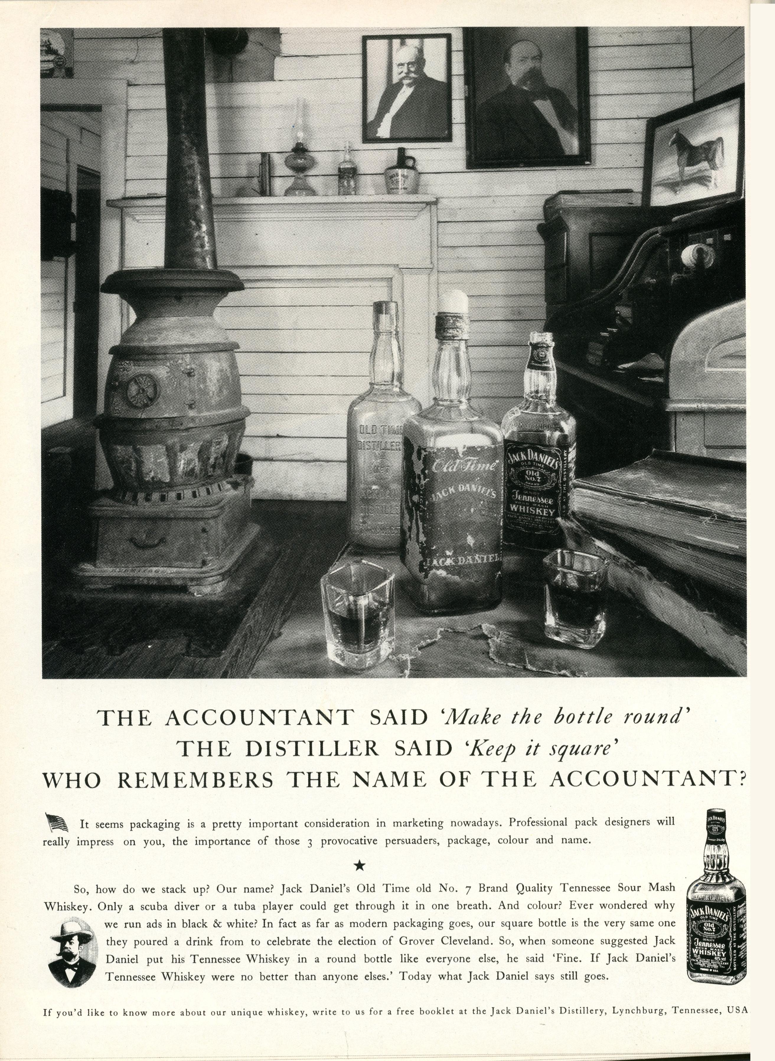 Jack Daniels 'Bottle' BMP-01