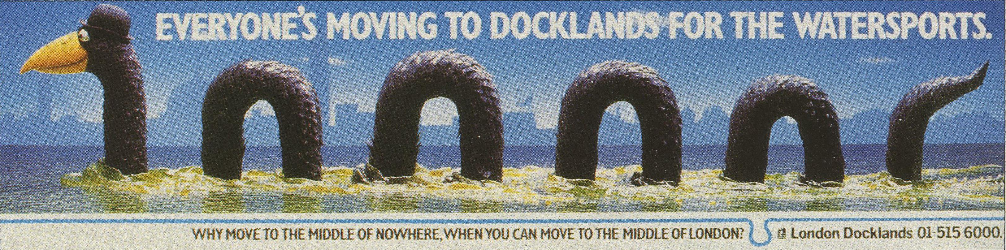 London Docklands 'Nessie Trott-01