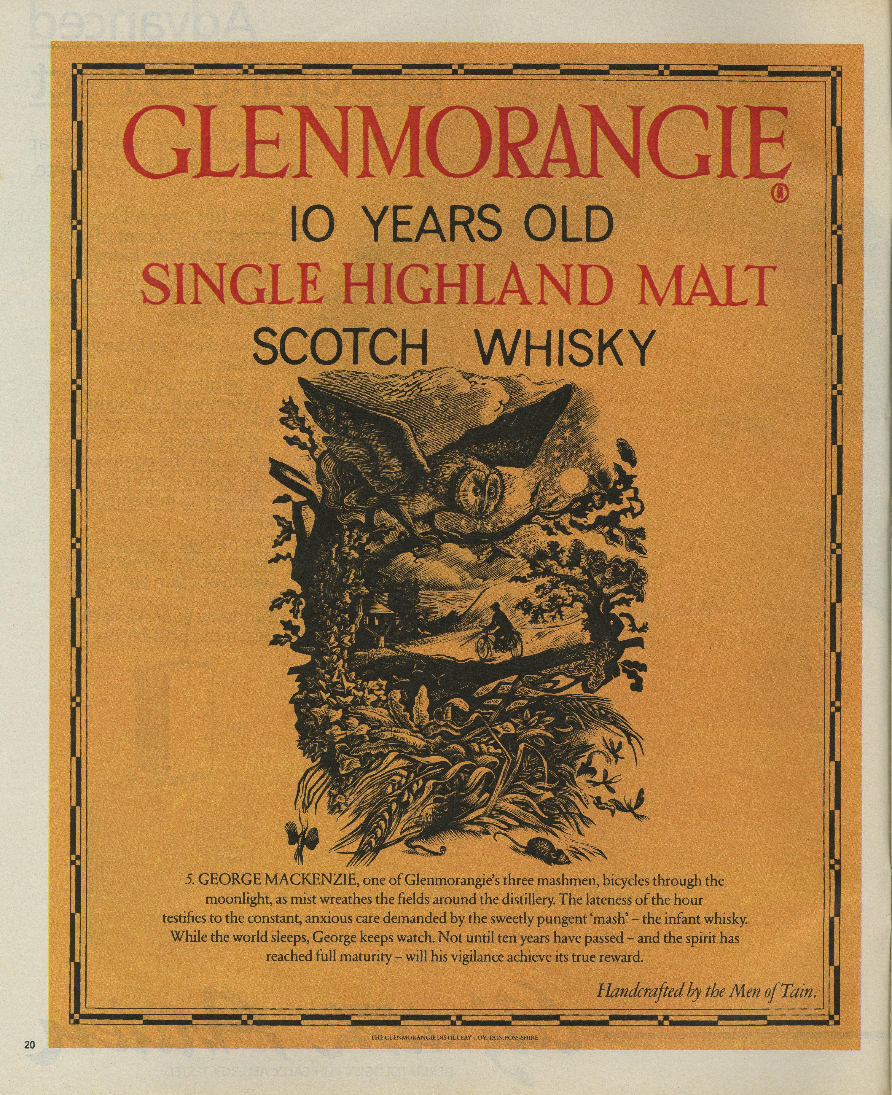 Glenmorangie 'Owl' HKR, Mark Reddy