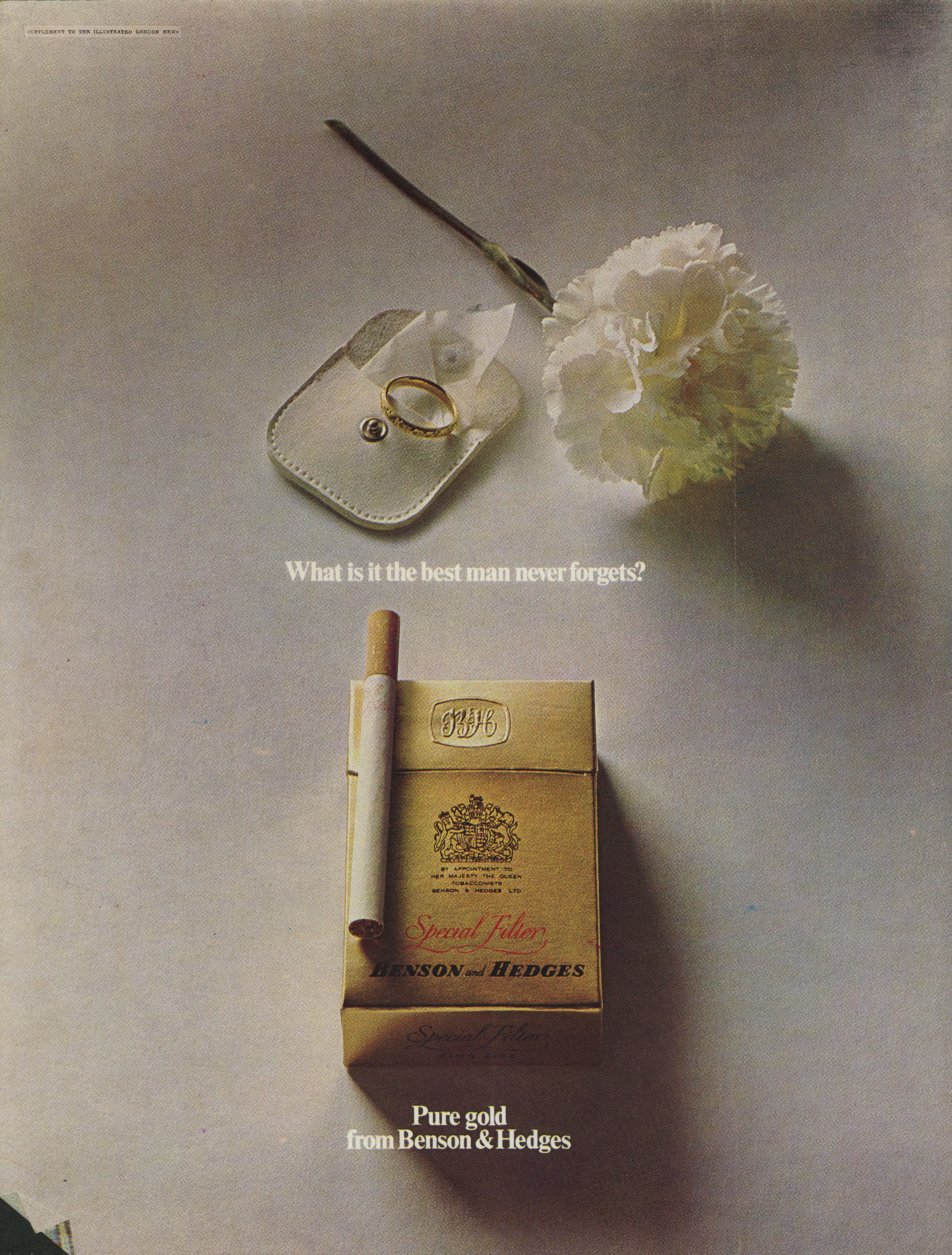 B&H Gold Box 'Best Man' CDP-01