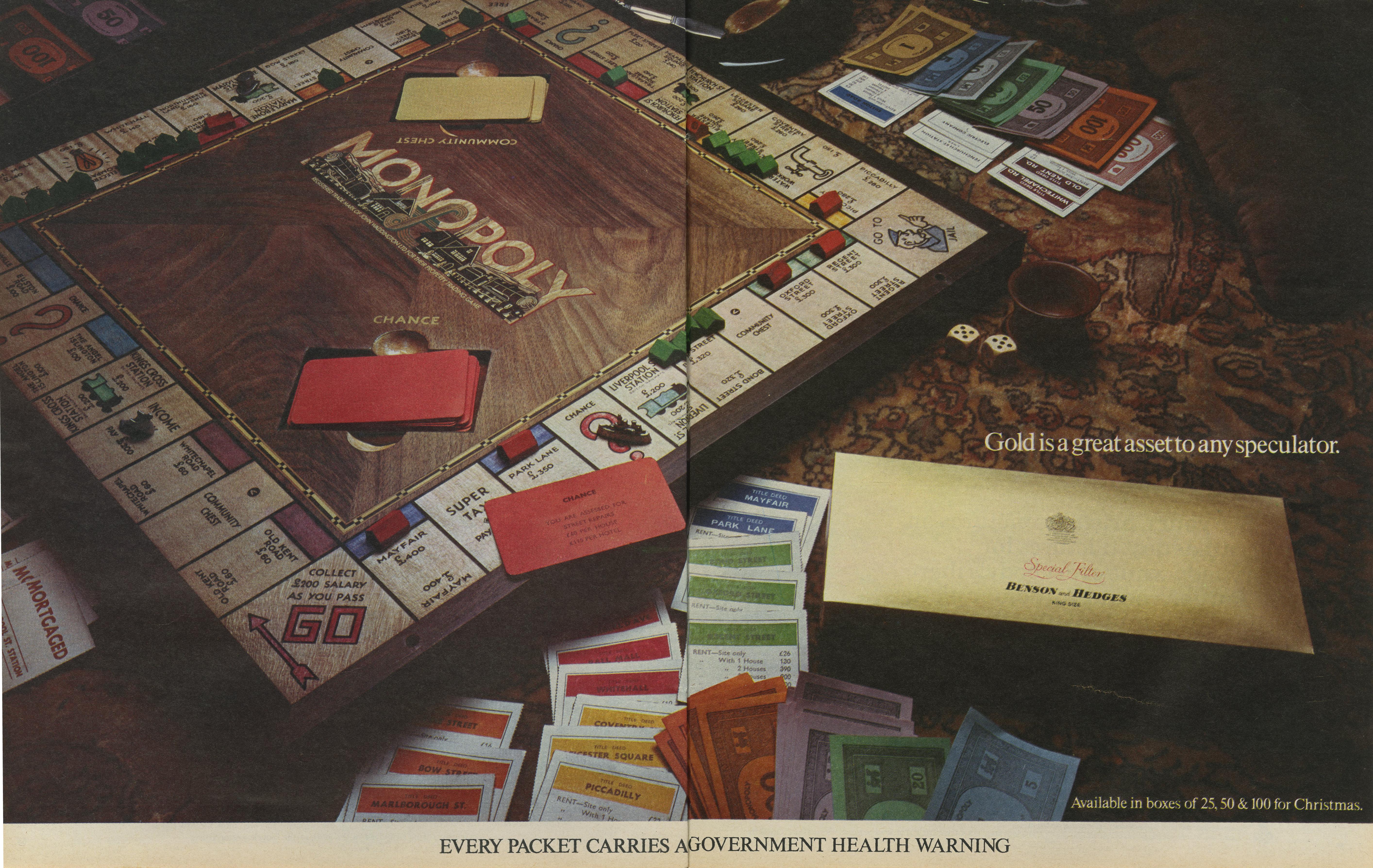 B&H Gold Box 'Monopoly' CDP-01