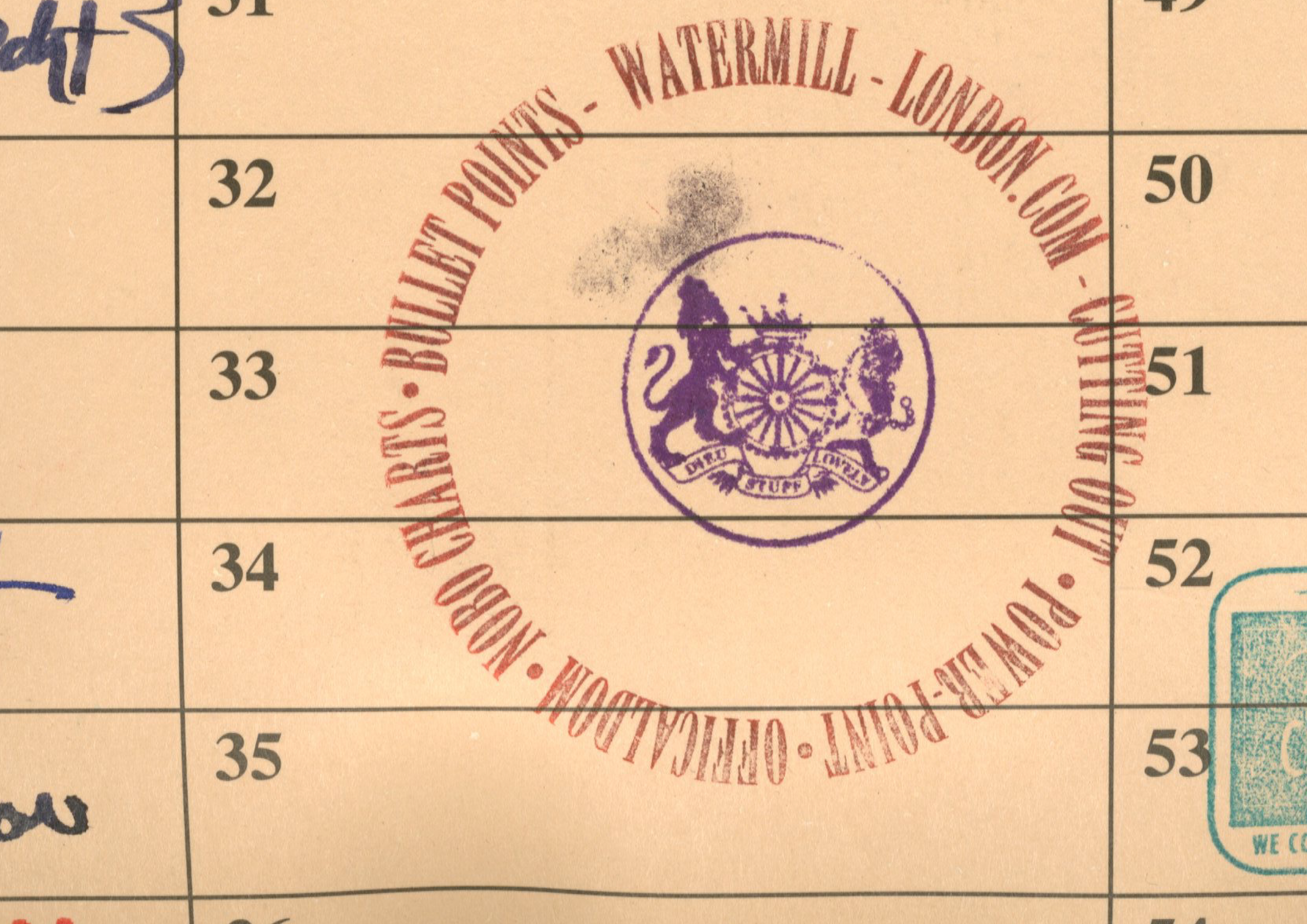 Dave Waters - Round Stamp-01