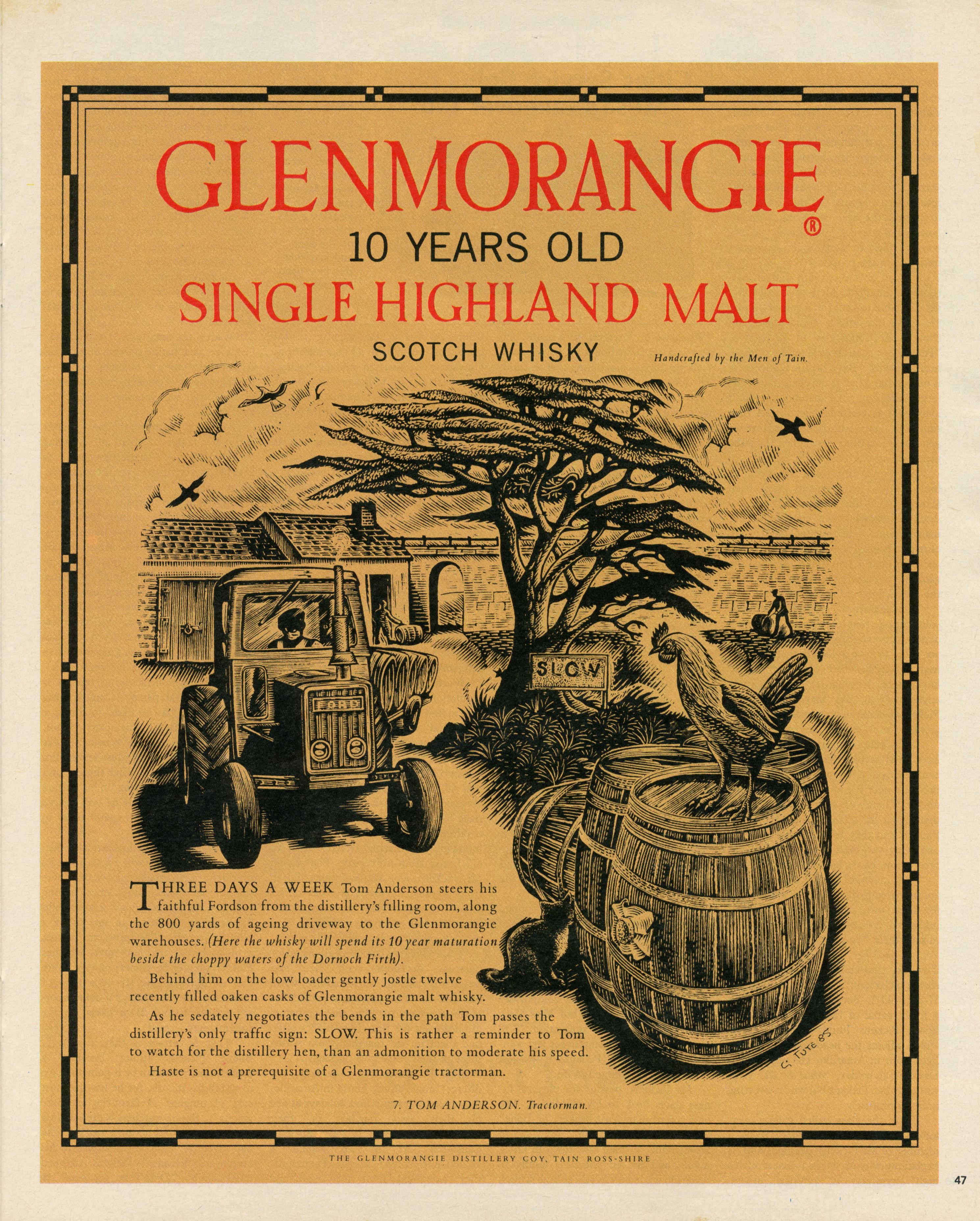 Glenmorangie '7. Tom Anderson' HKR:Reddy