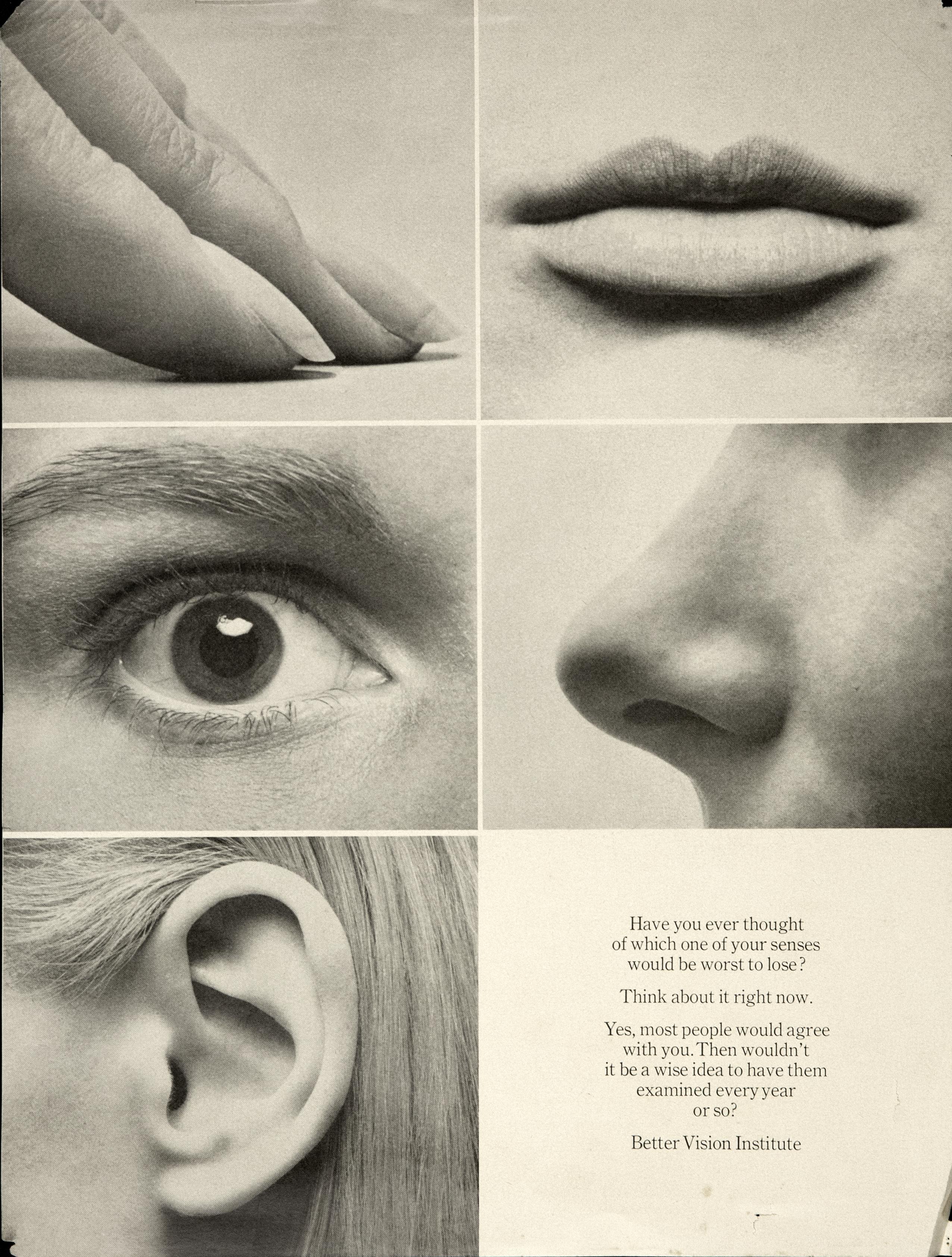 Better Vision Institute 'Ears, Eyes' Len Sirowitz, DDB