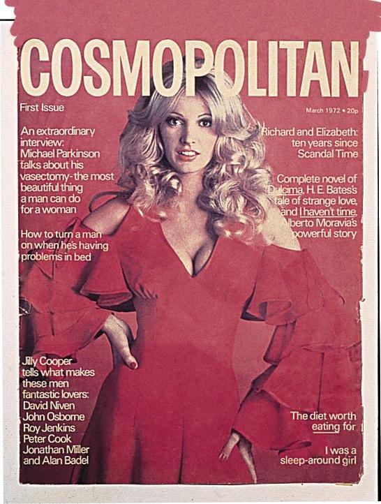 Cosmopolitan First U.K. issue: launch