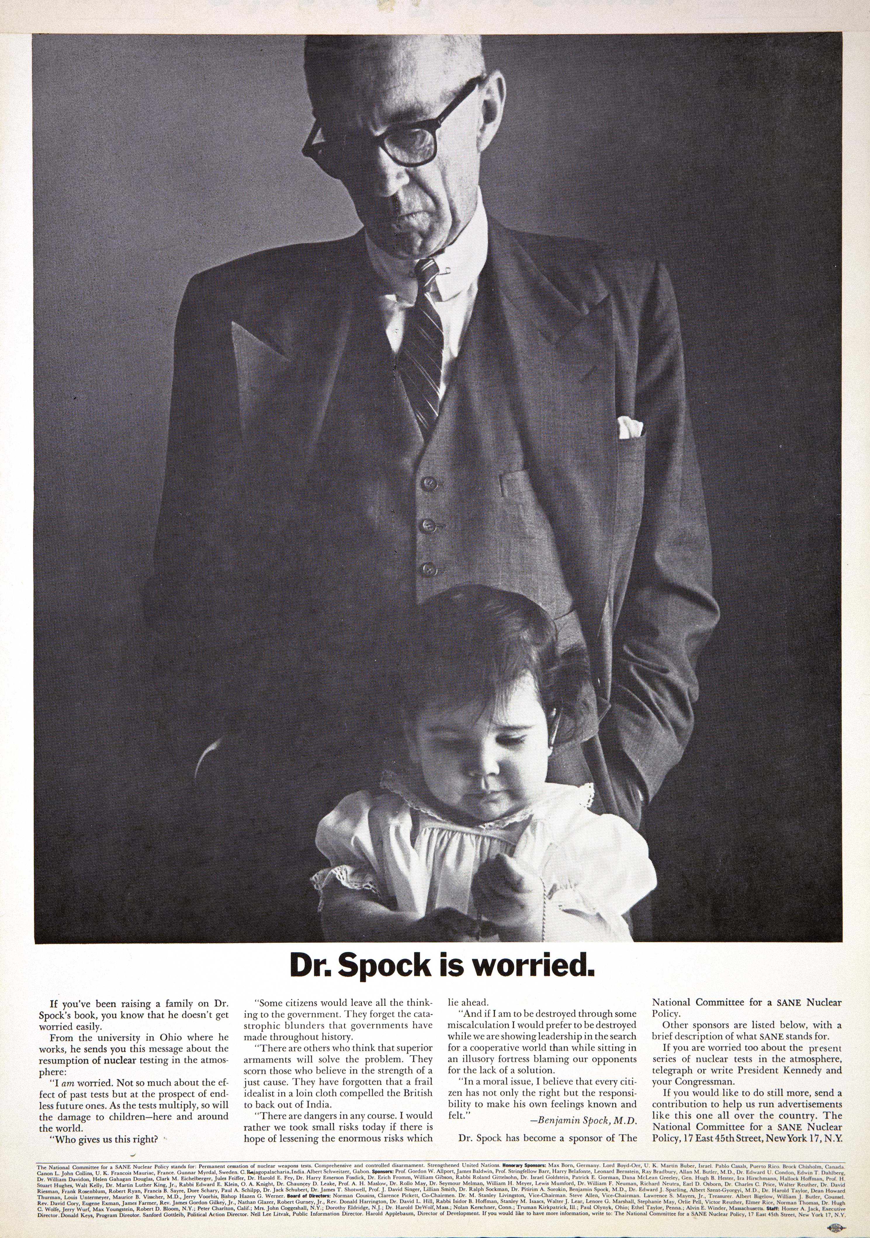 'Dr Spock' Len Sirowitz, DDB