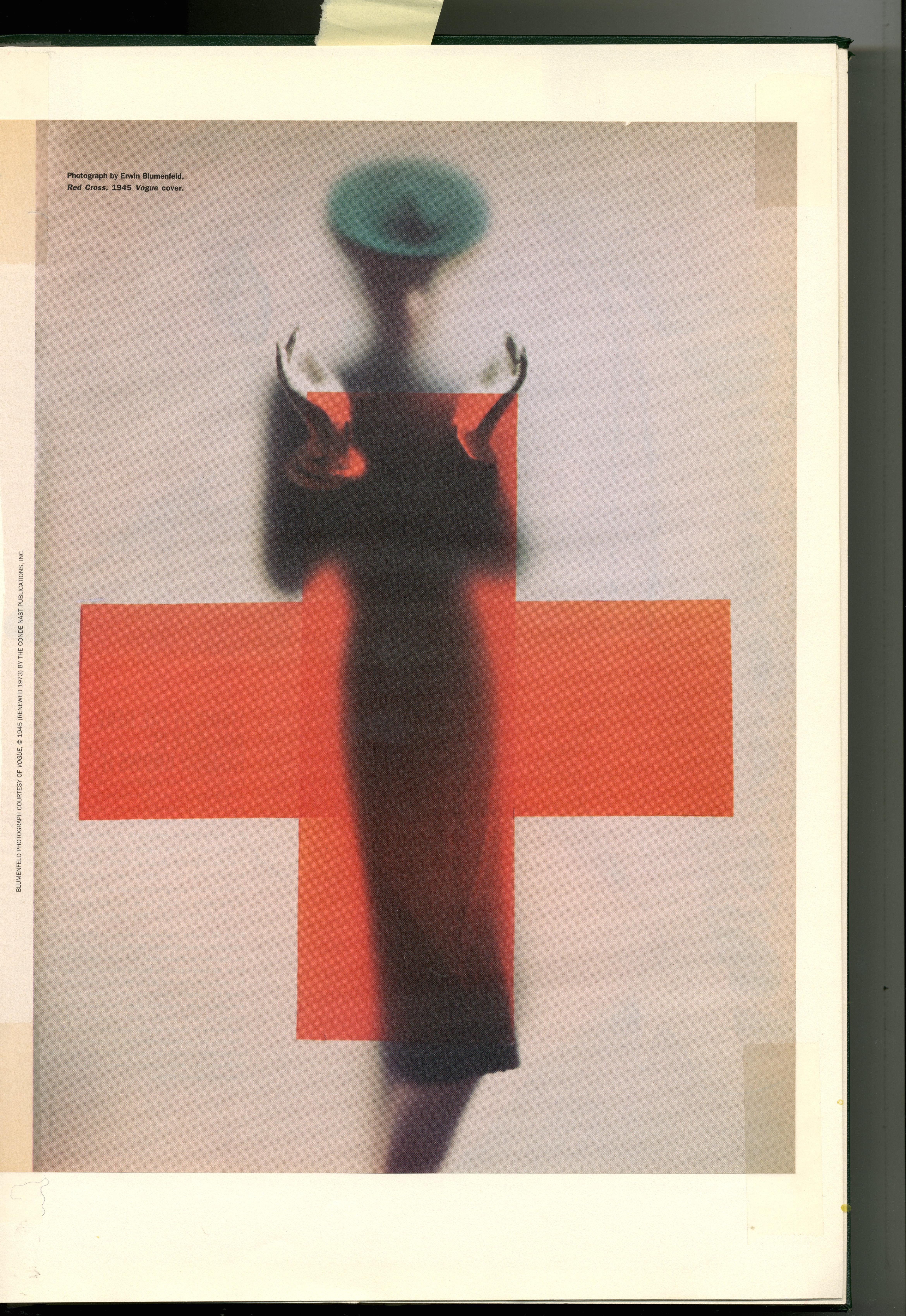Erwin Blumenfeld : Red Cross : Dave Dye
