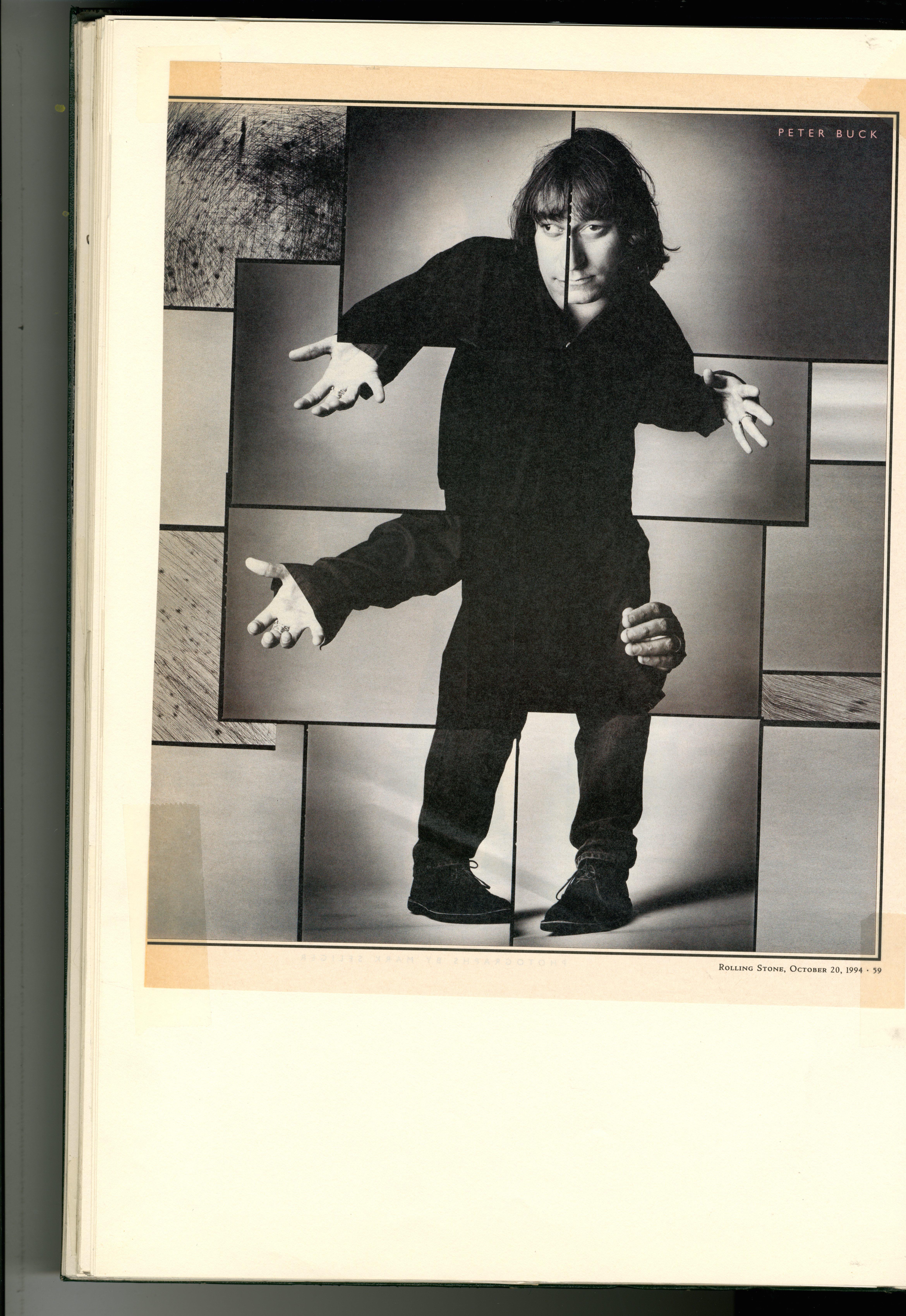 Mark Siegler 2 : R.E.M.: Rolling Stone Magazine : Dave Dye.