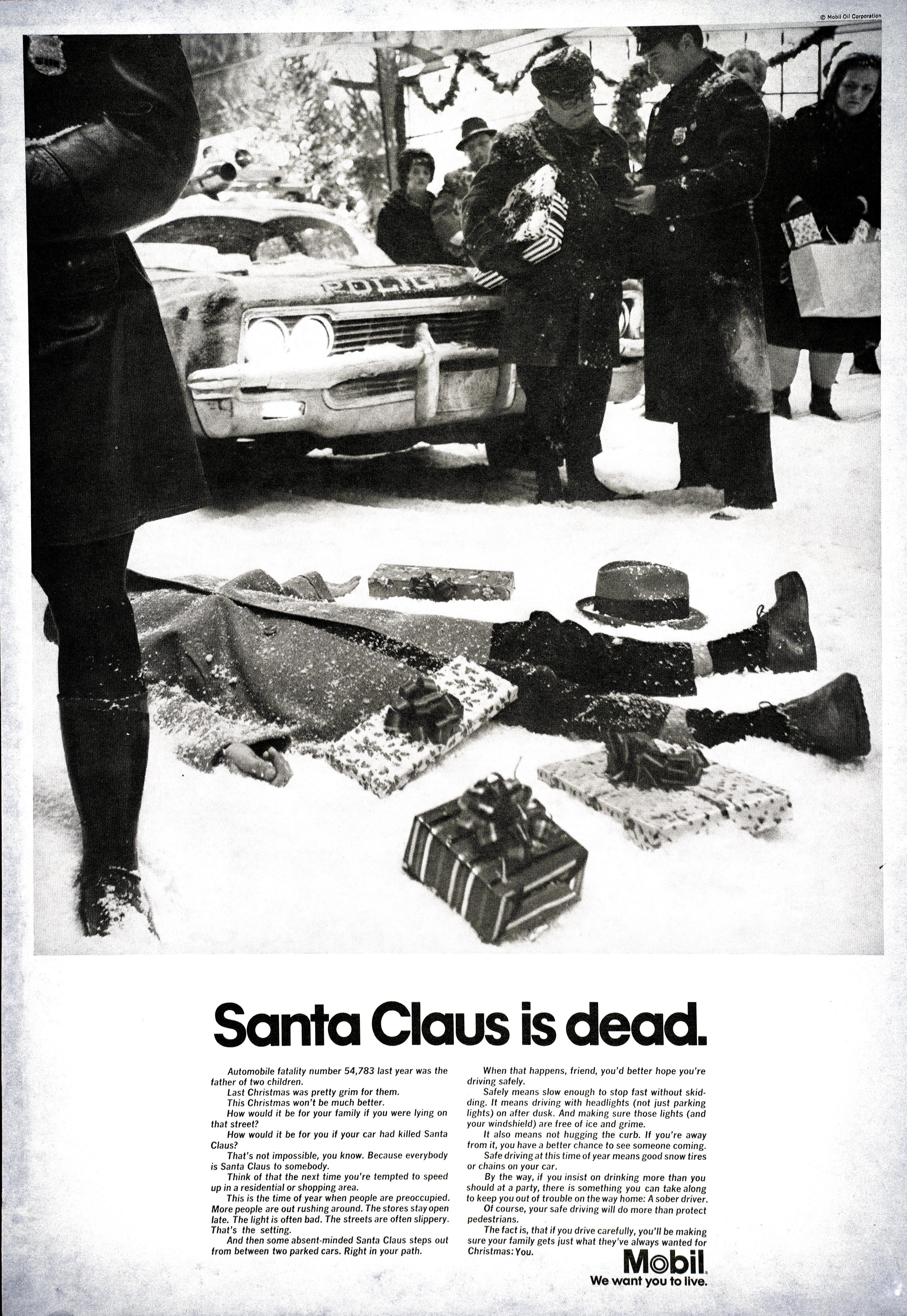 Mobil 'Santa' Len Sirowitz, DDB
