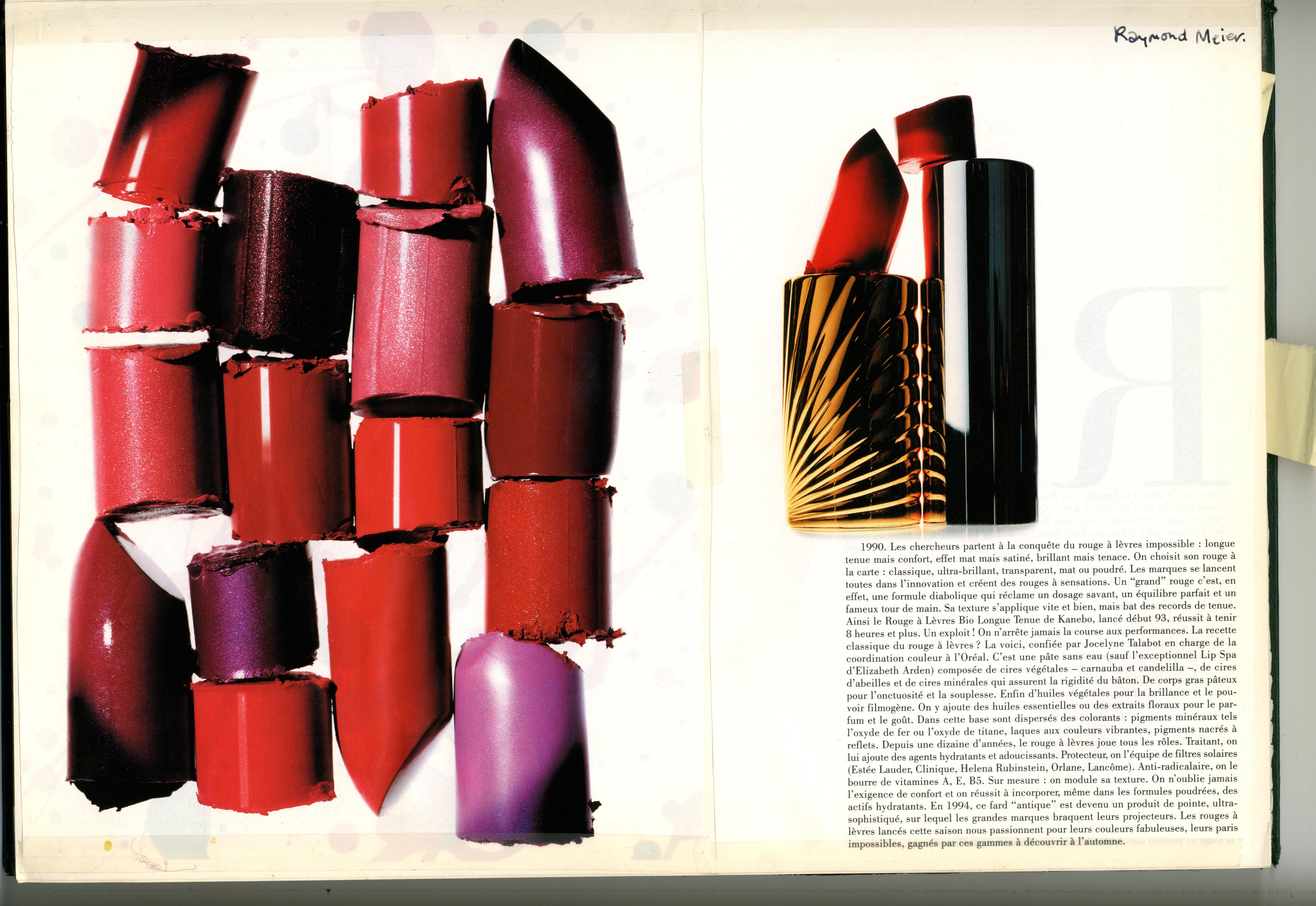 Raymond Meier : Lipsticks broken :  : Dave Dye