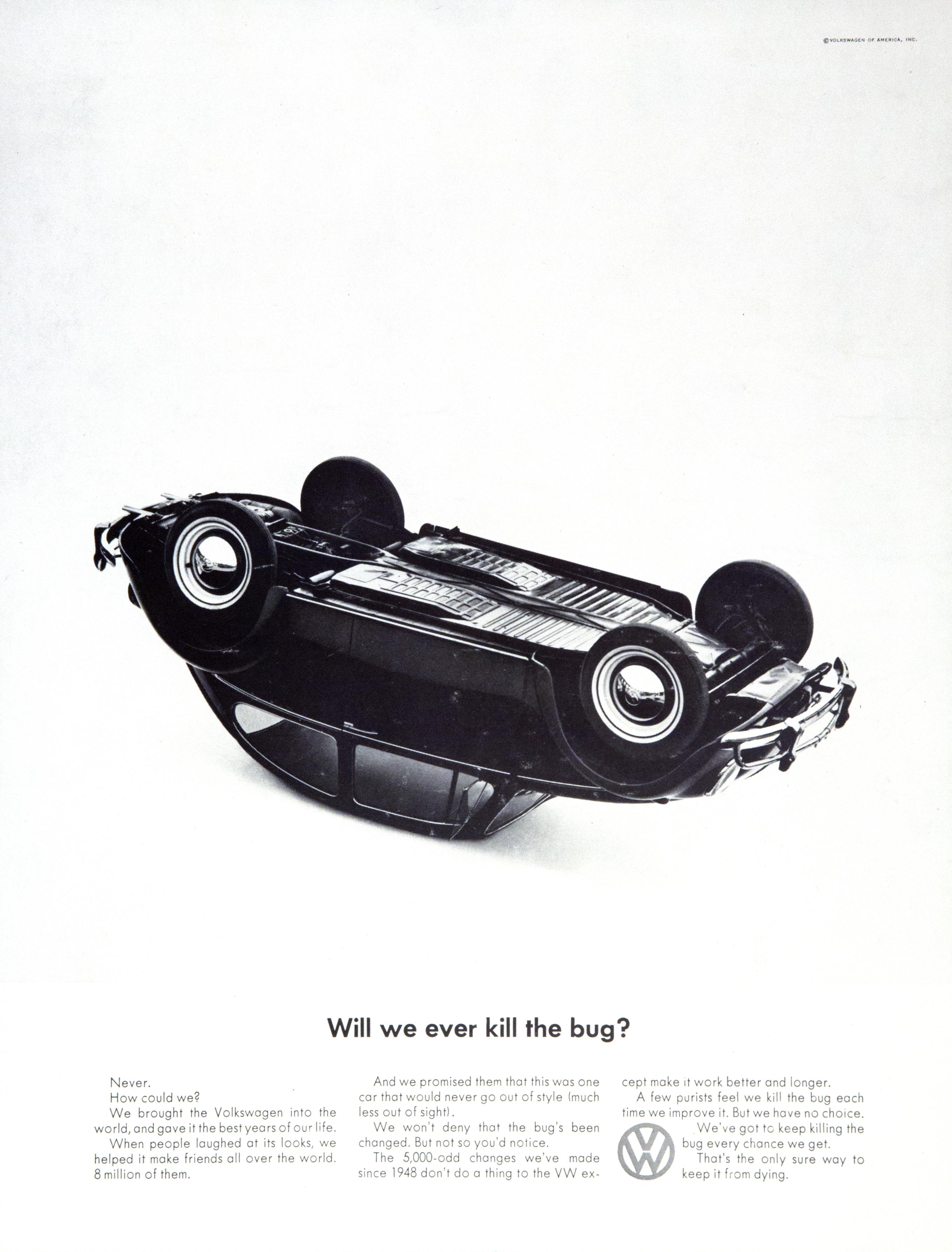 VW 'Will we ever' Len Sirowitz, DDB