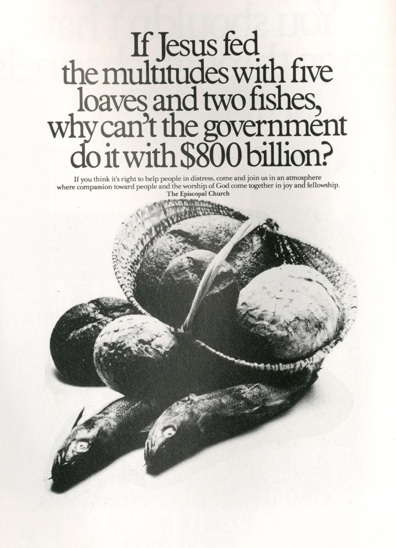 Fallon McElligott, Loaves & Fishes'-01