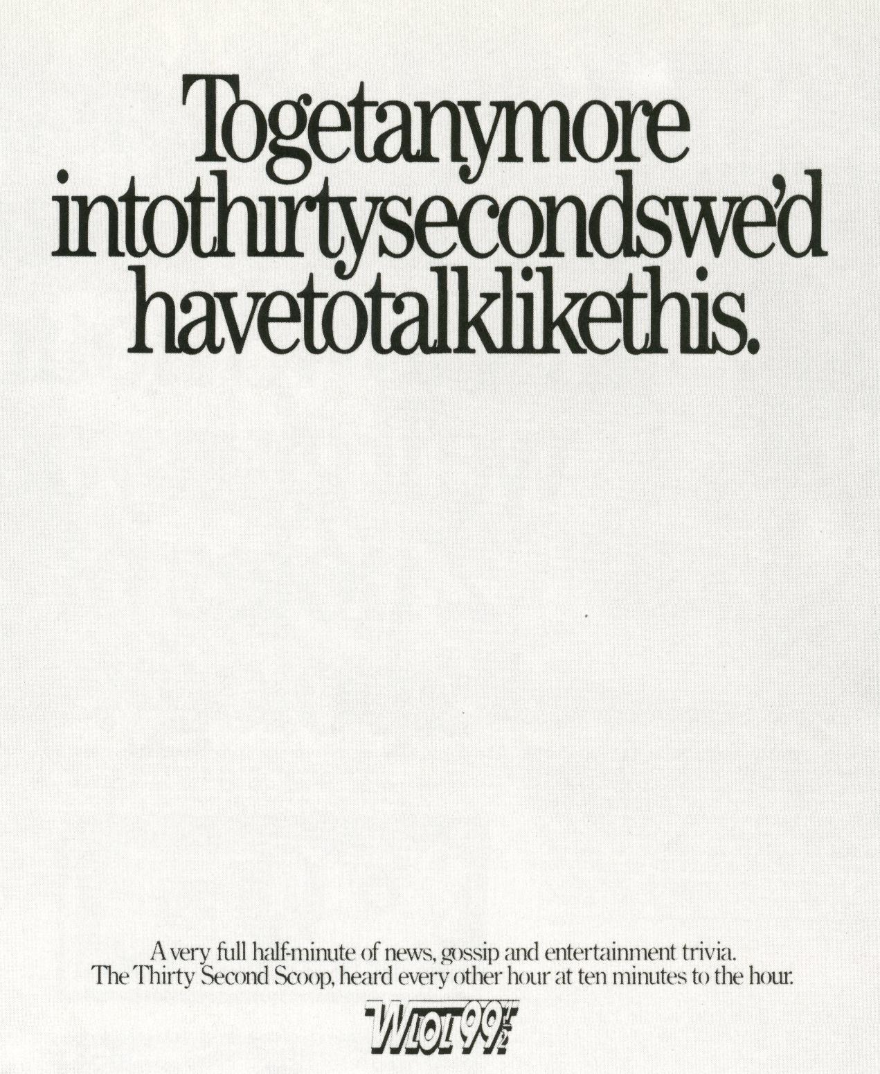 Fallon McElligott, 'Squeezed Type'-01
