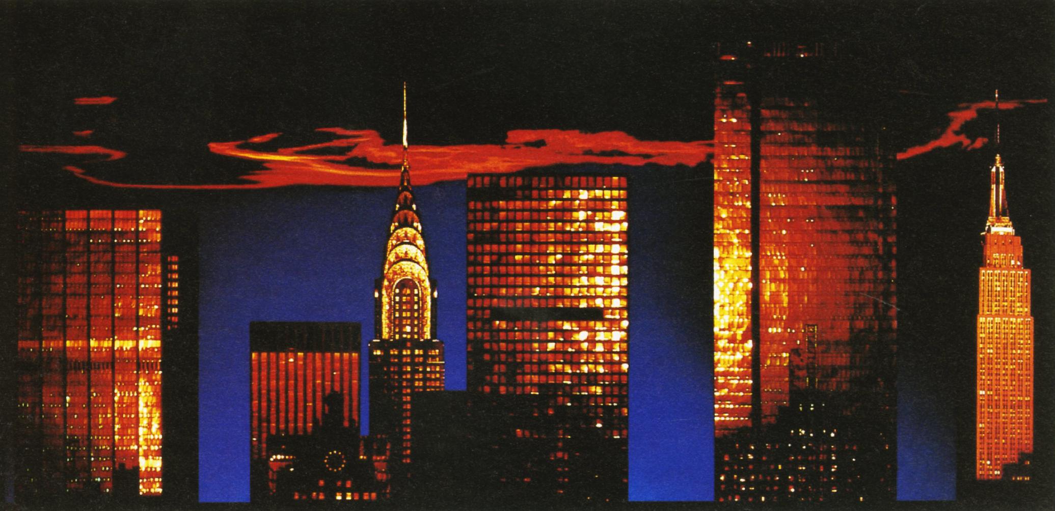 John Claridge -New York Sunset-01