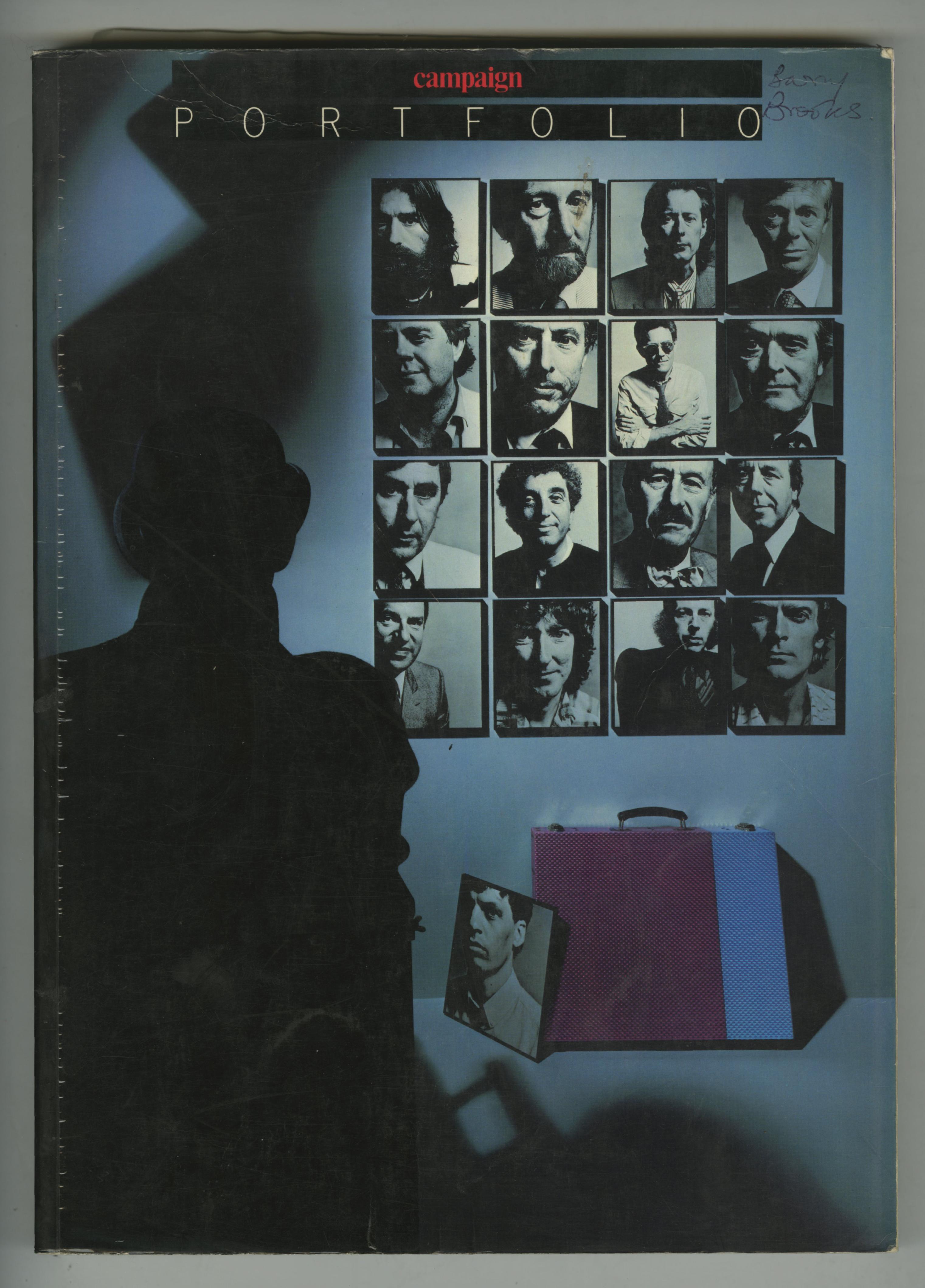 John Claridge, 'Portfolio Cover'-01