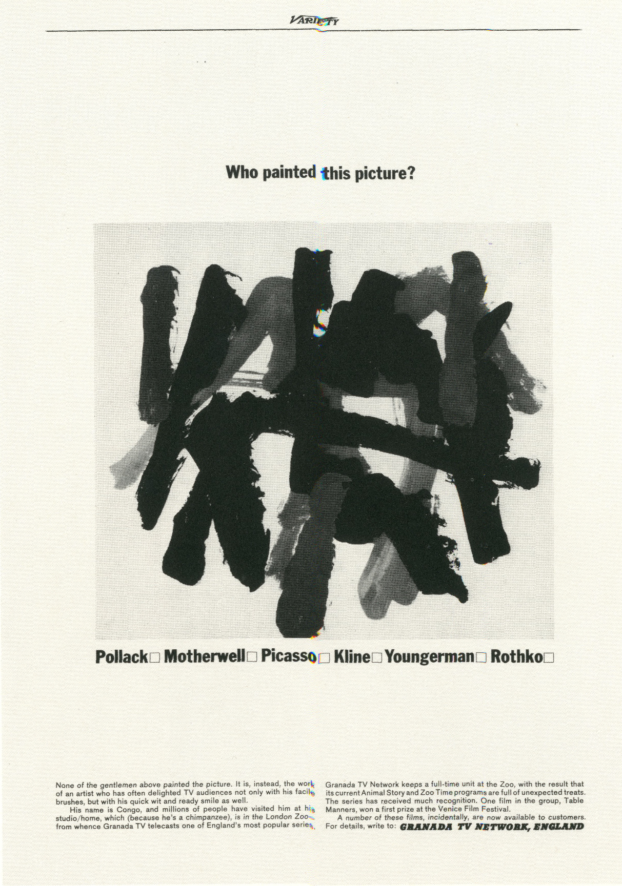 PKL, The First Year, Granada TV 'Who painted'-01