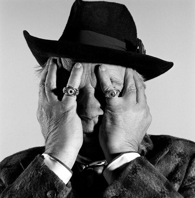 Brian Griffin - George-Melly_London-1990