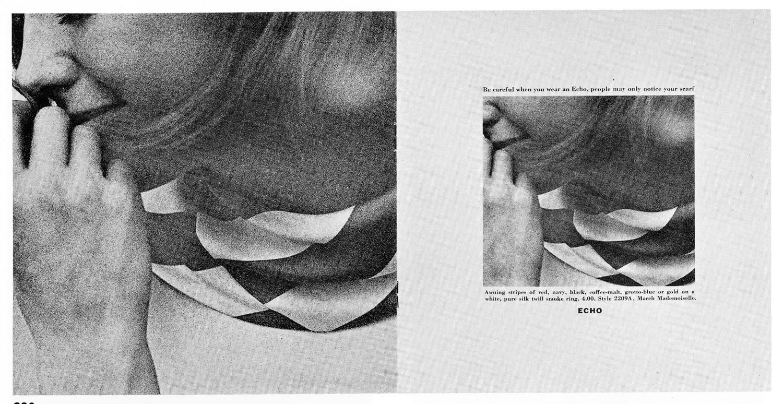 Jane Trahey, Echo Scarves 'Be Careful''