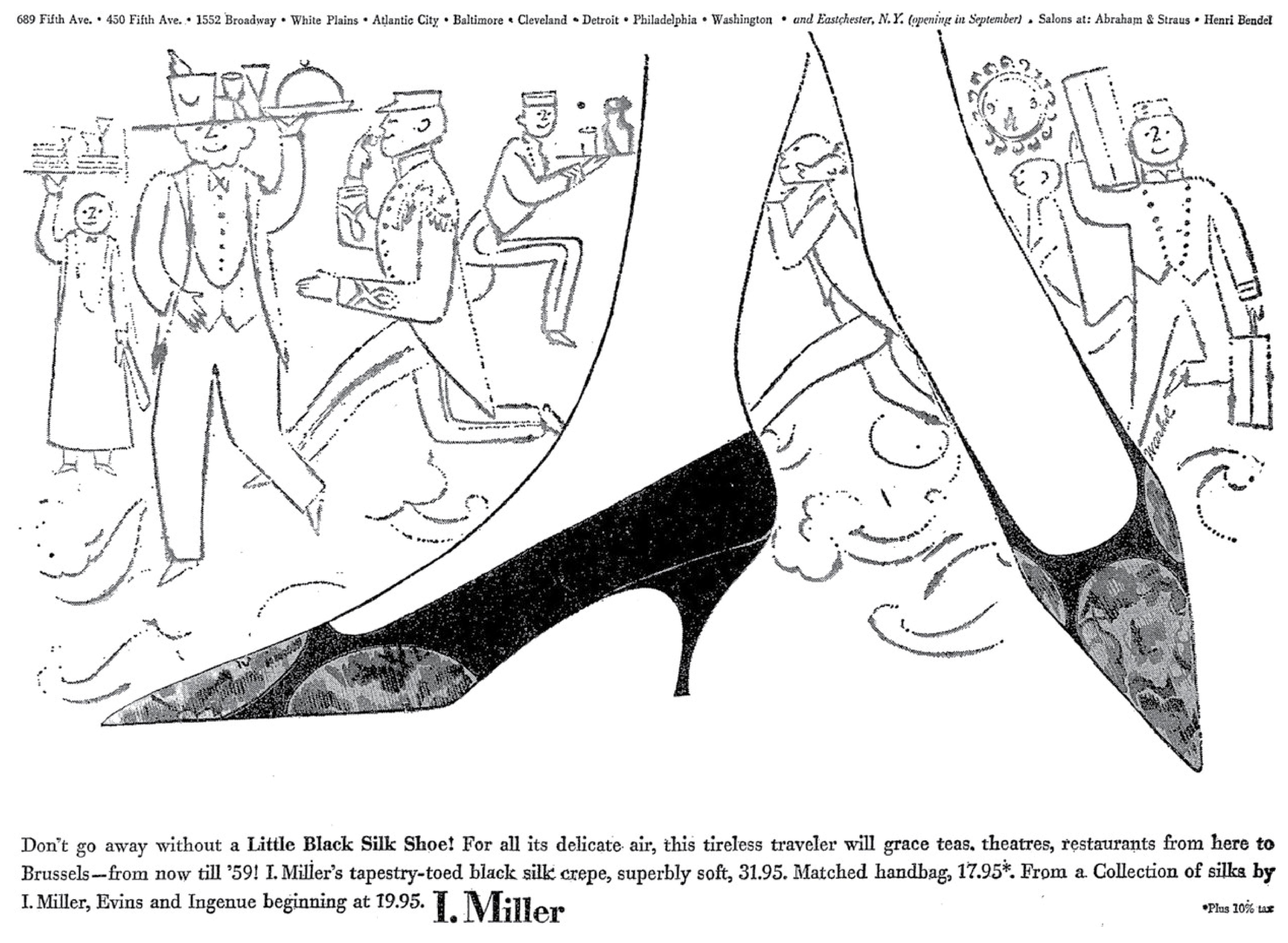 Jane Trahey, I. Miller 2, Andy Warhol-01