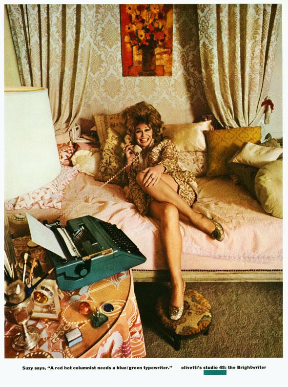 Jane Trahey, Olivetti 'Suzy'