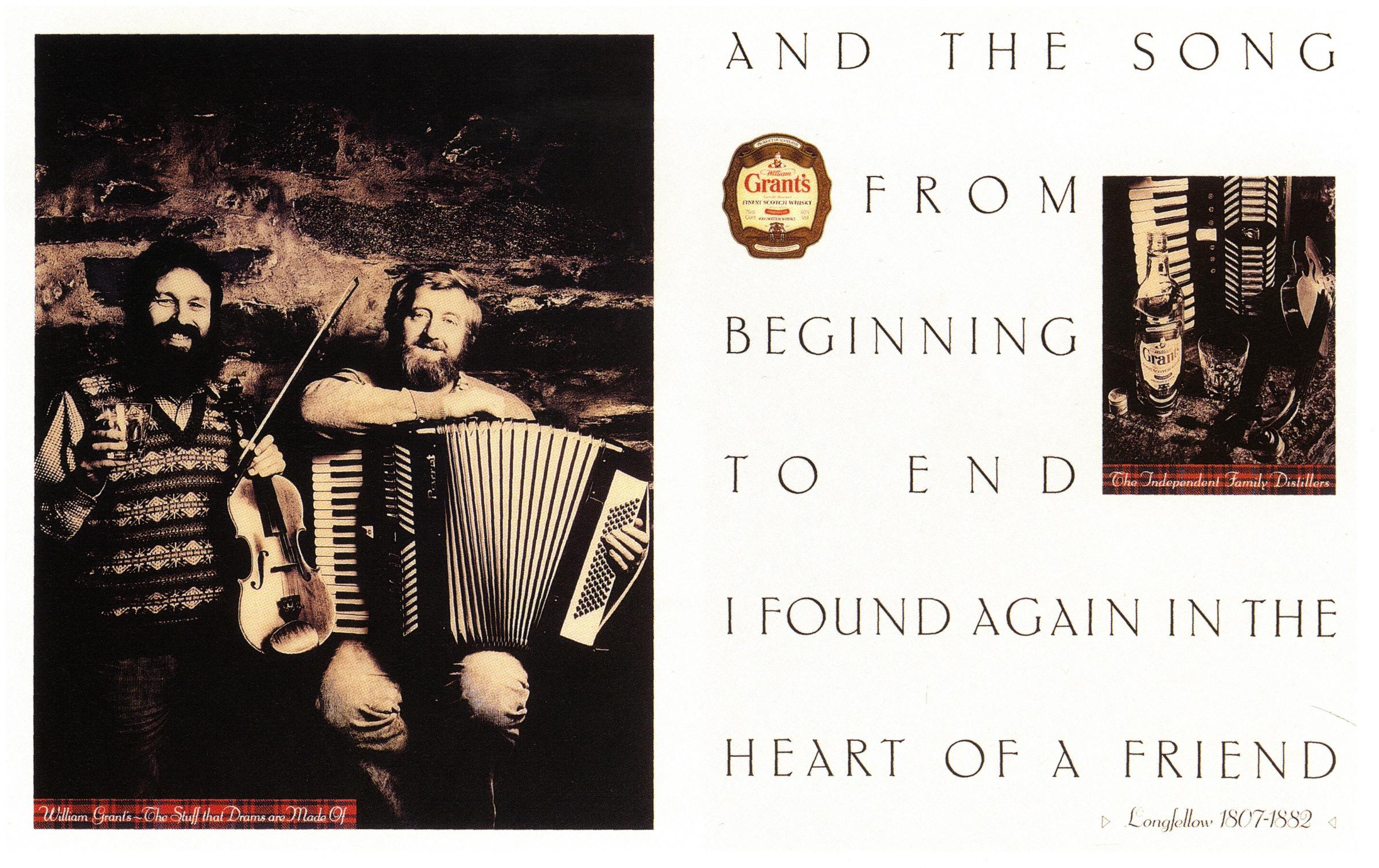 John Claridge, Grant's 'Song'*