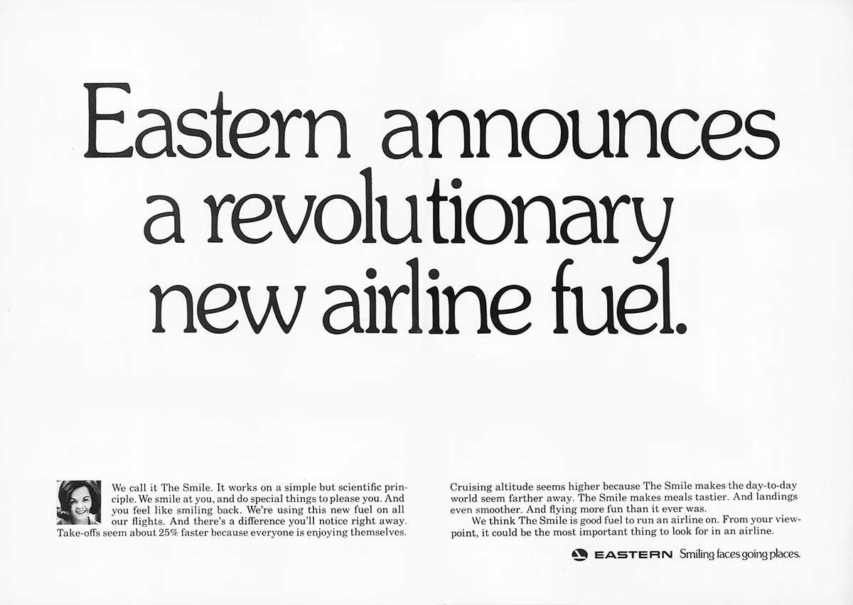 Steve Frankfurt, Eastern Airlines 'Fuel'
