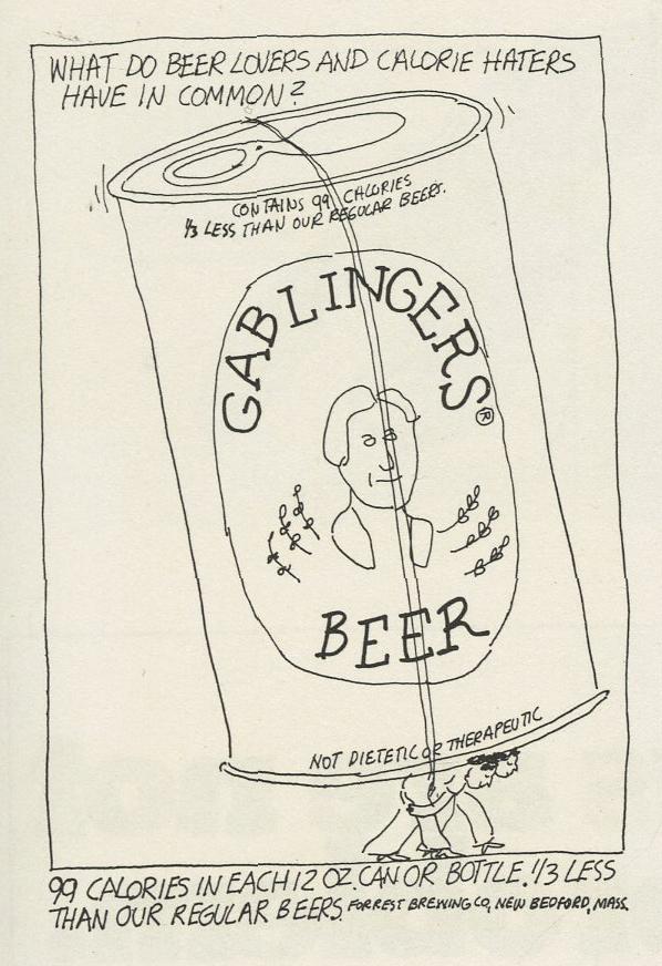 Steve Frankfurt, Gablingers Beer 'Carry'-01