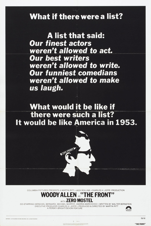 Steve Frankfurt - The Front' Poster, (Long Copy)