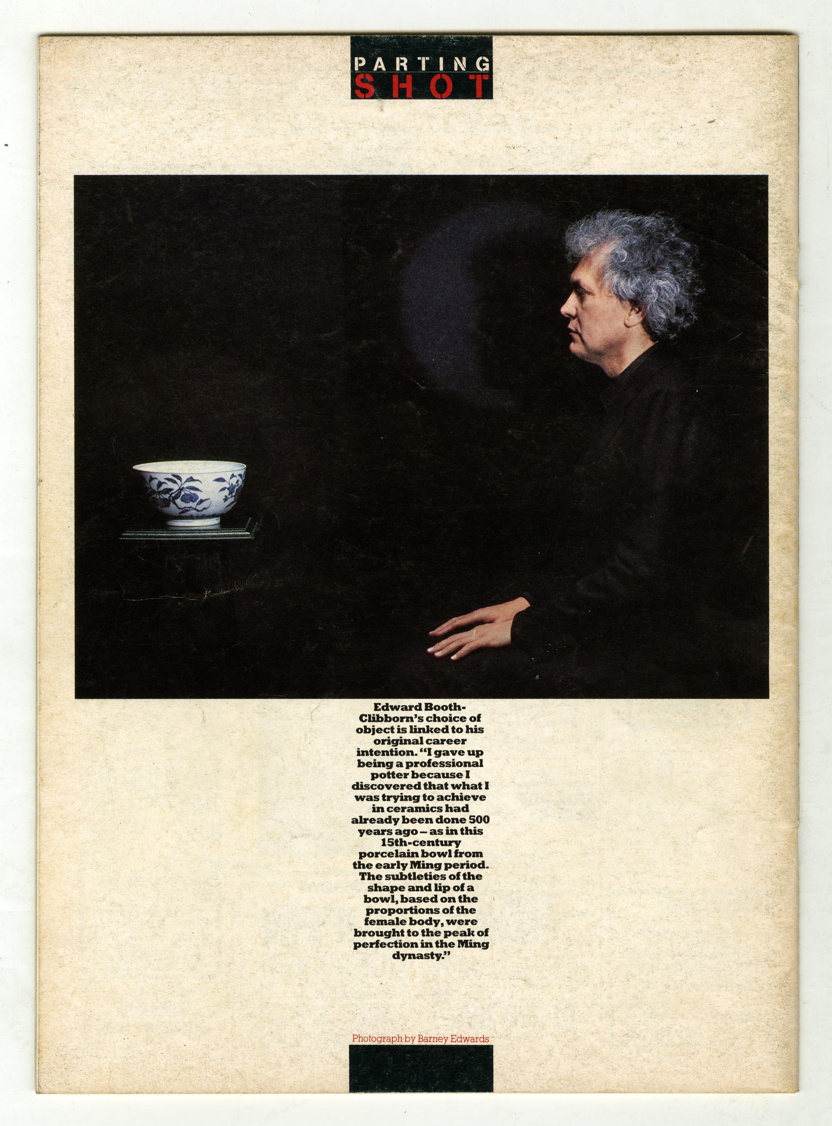 Barney Edwards, Edward Boothe-Clibborn, Direction Magazine