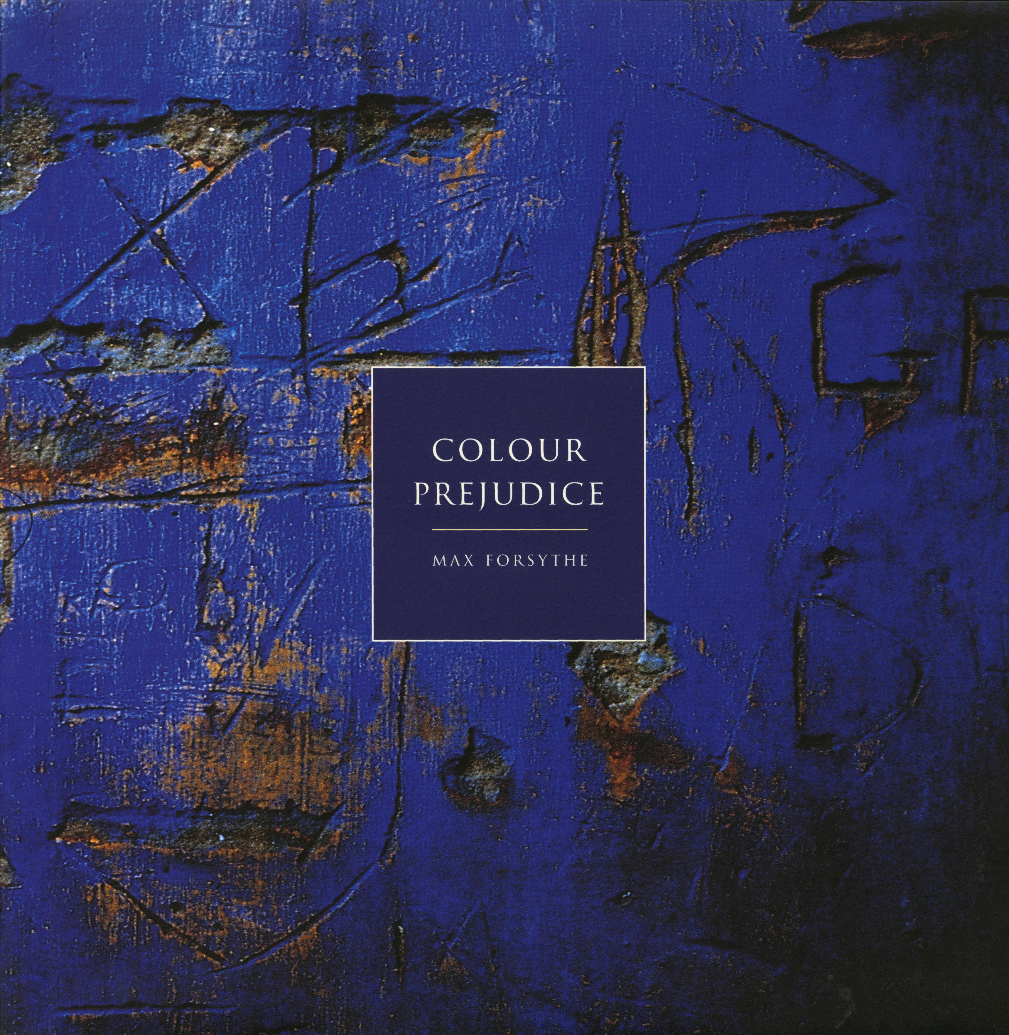 Max Forsythe, Cover of 'Colour Prejudice' book-01
